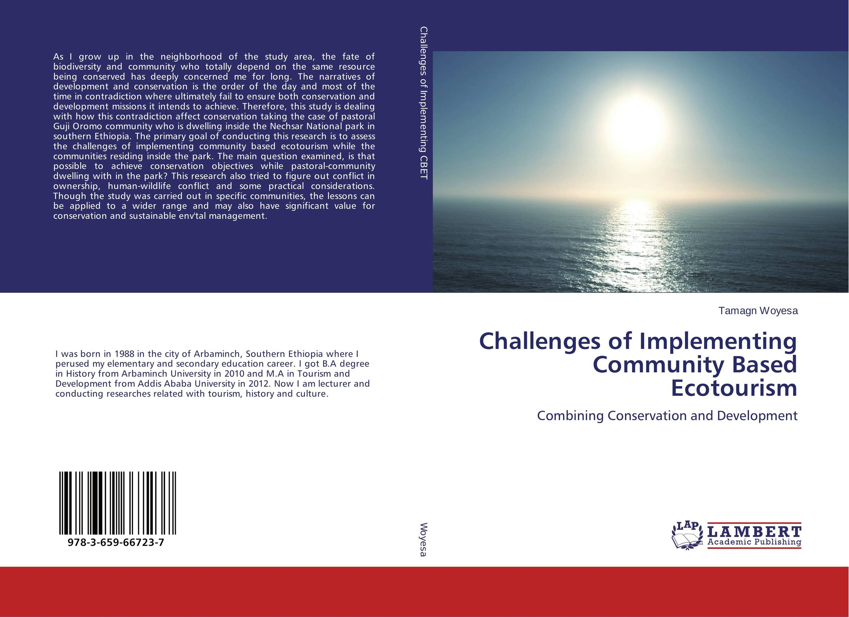 все цены на Challenges of Implementing Community Based Ecotourism онлайн