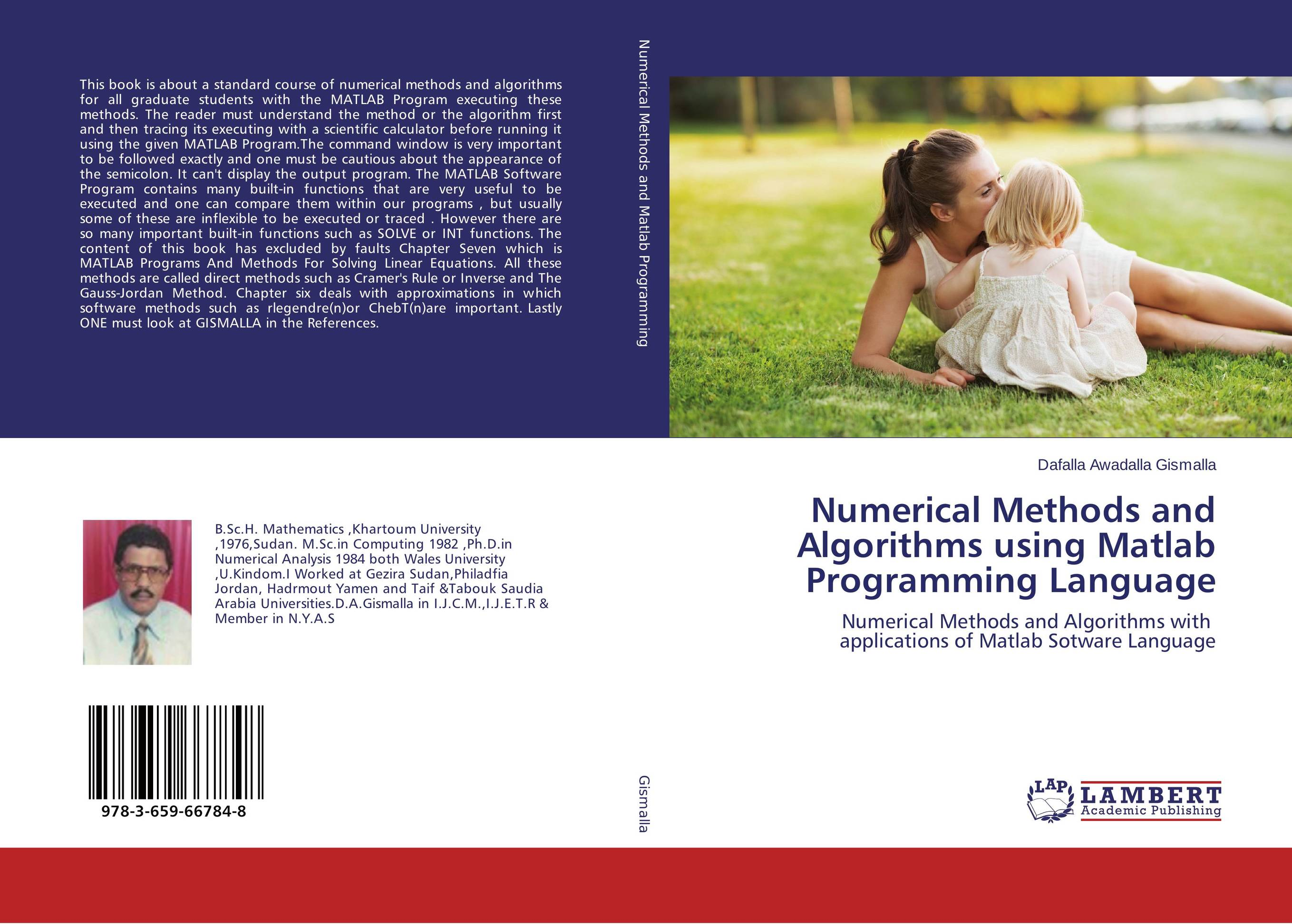 Numerical Methods and Algorithms using Matlab Programming Language купить