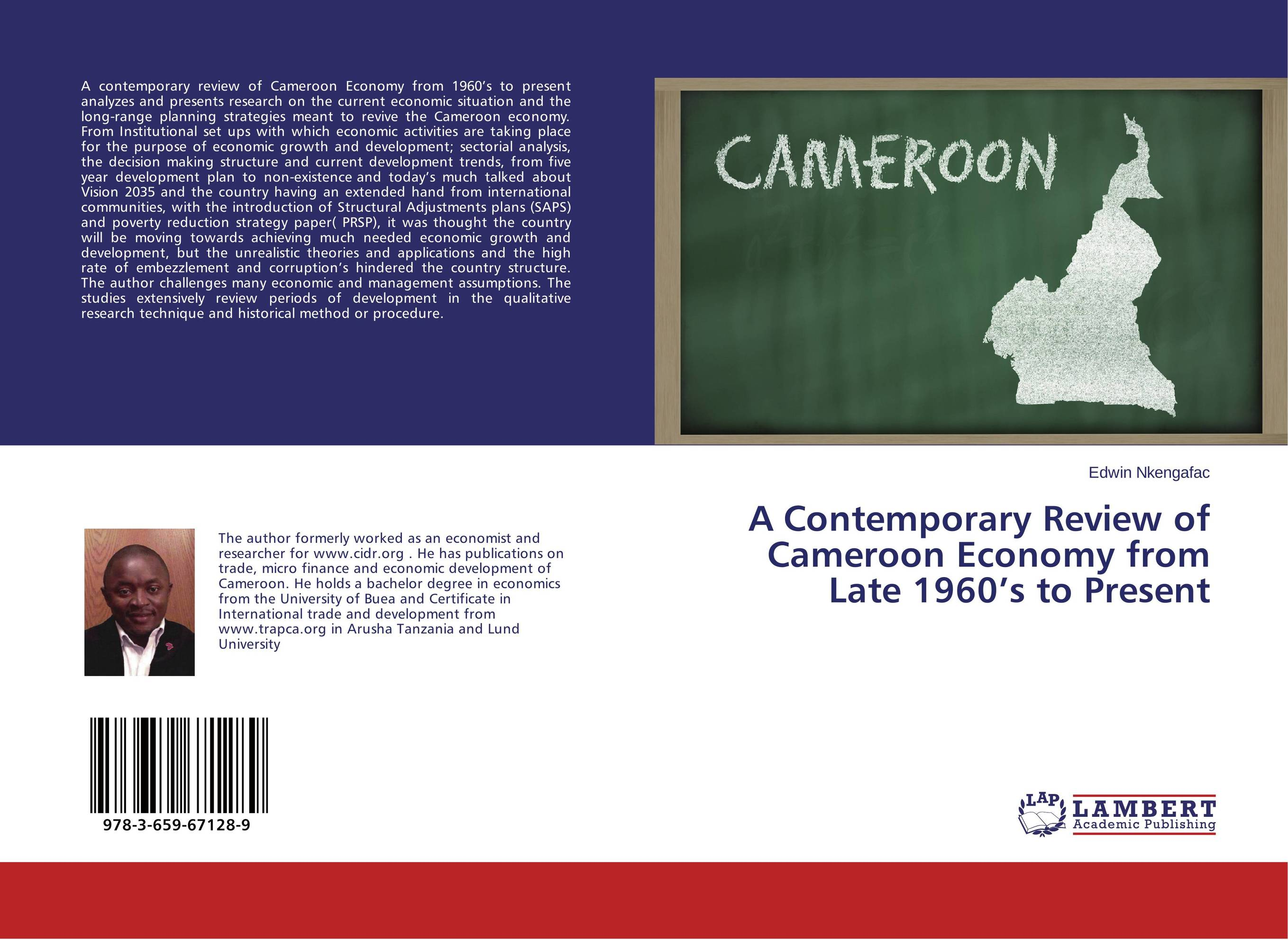 A Contemporary Review of Cameroon Economy from Late 1960's to Present review of genus cotugnia diamare from maharashtra