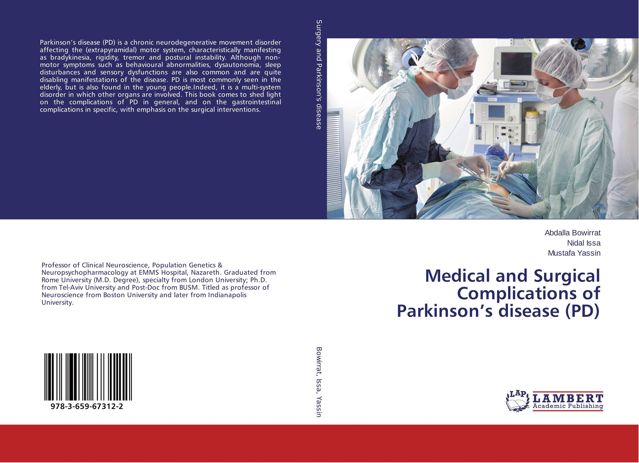 Medical and Surgical Complications of Parkinson's disease (PD) bhartrihari pandiya and ruchi yadav microarray gene analysis on parkinson's disease by r