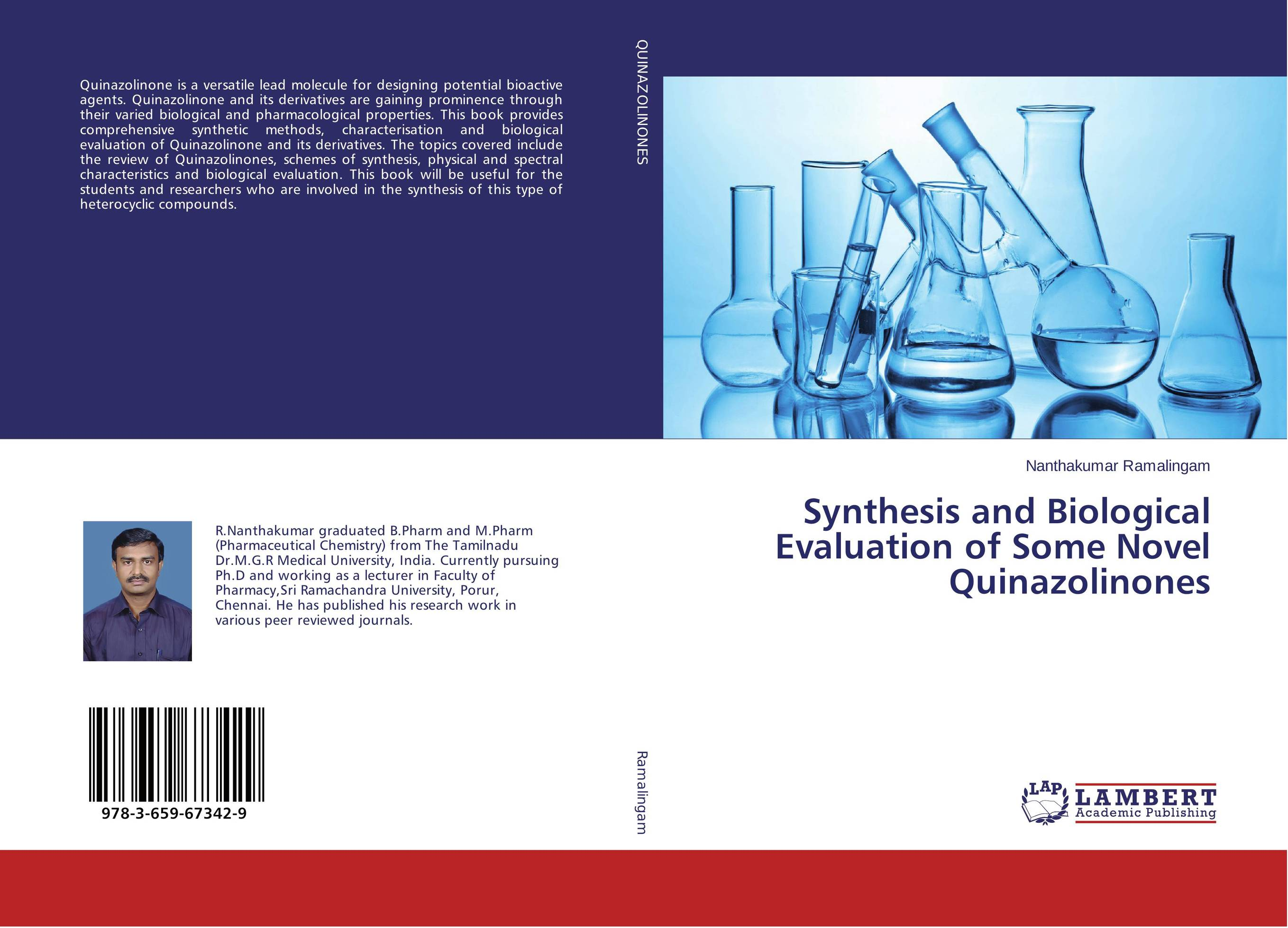 Synthesis and Biological Evaluation of Some Novel Quinazolinones revathi arun gupta and s g kaskhedikar synthesis evaluation and qsar study of antitubercular agents