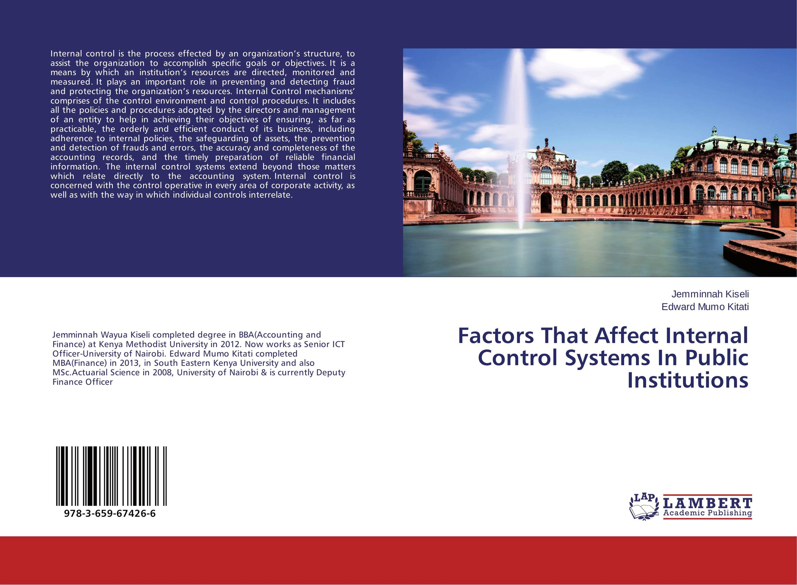 Factors That Affect Internal Control Systems In Public Institutions martin biegelman t executive roadmap to fraud prevention and internal control creating a culture of compliance