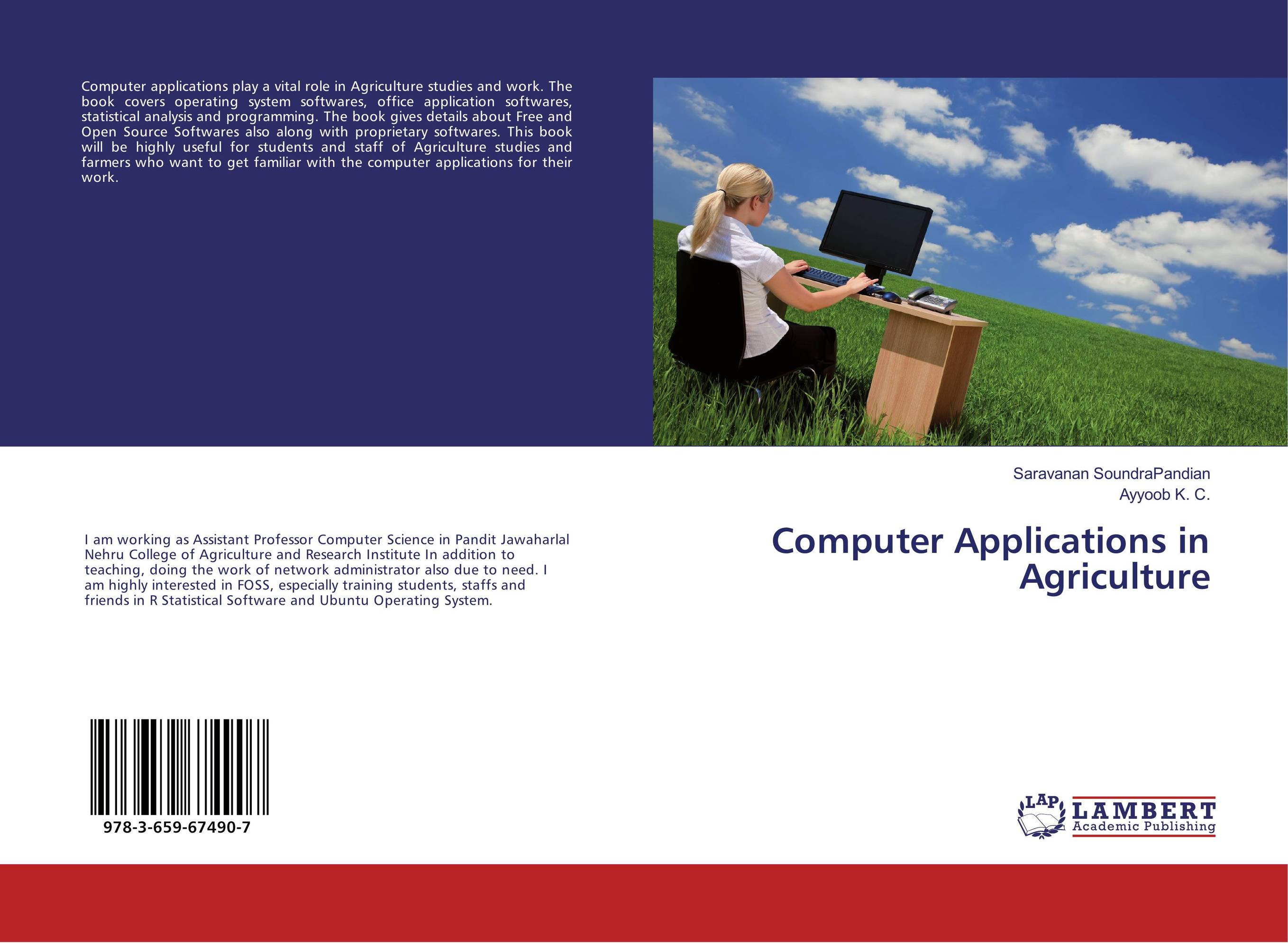 Computer Applications in Agriculture.