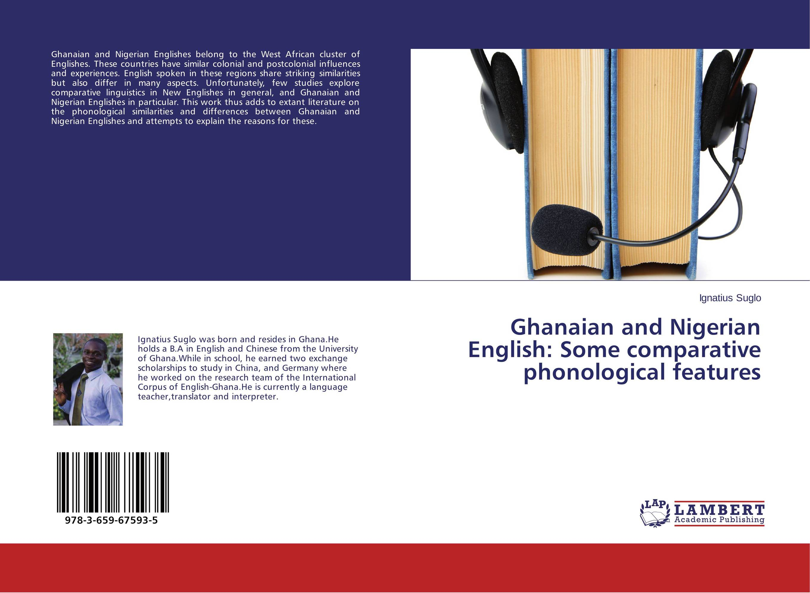 Ghanaian and Nigerian English: Some comparative phonological features купить