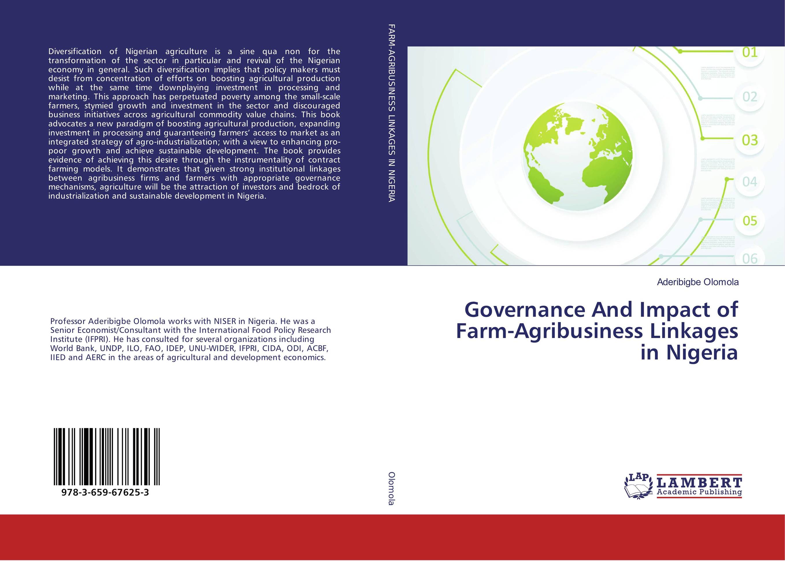 Governance And Impact of Farm-Agribusiness Linkages in Nigeria