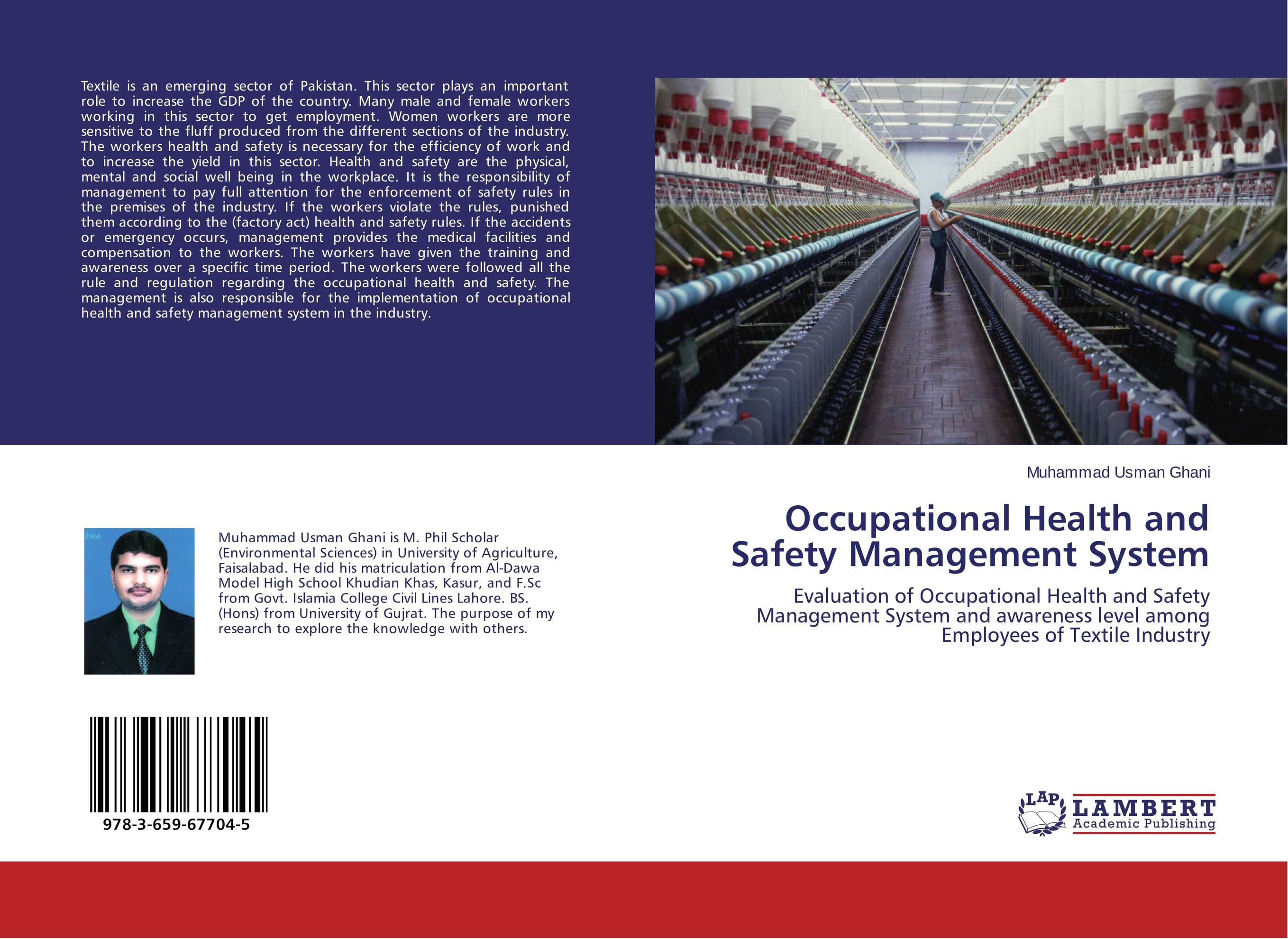 Occupational Health and Safety Management System arlene walker the application of the psychological contract to occupational safety