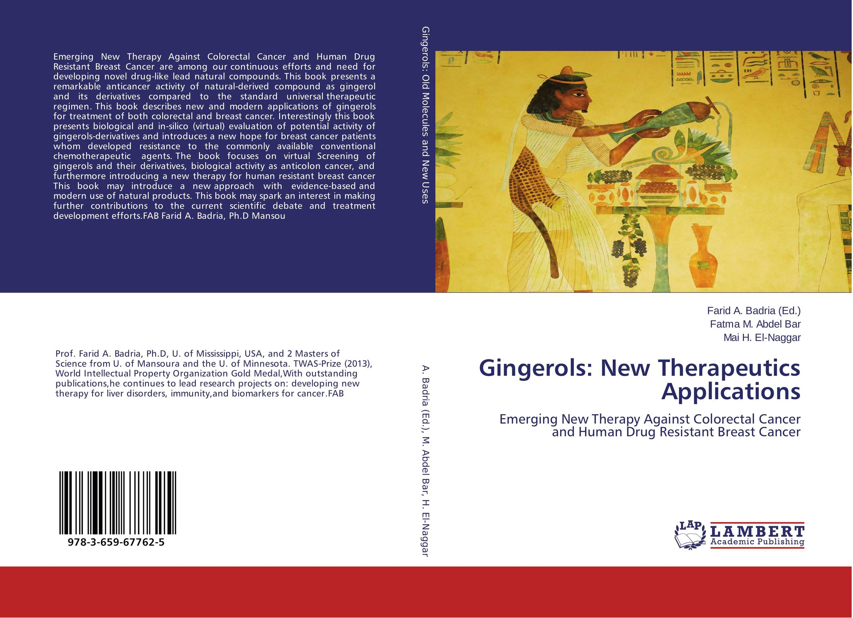 Gingerols: New Therapeutics Applications against colorectal cancer