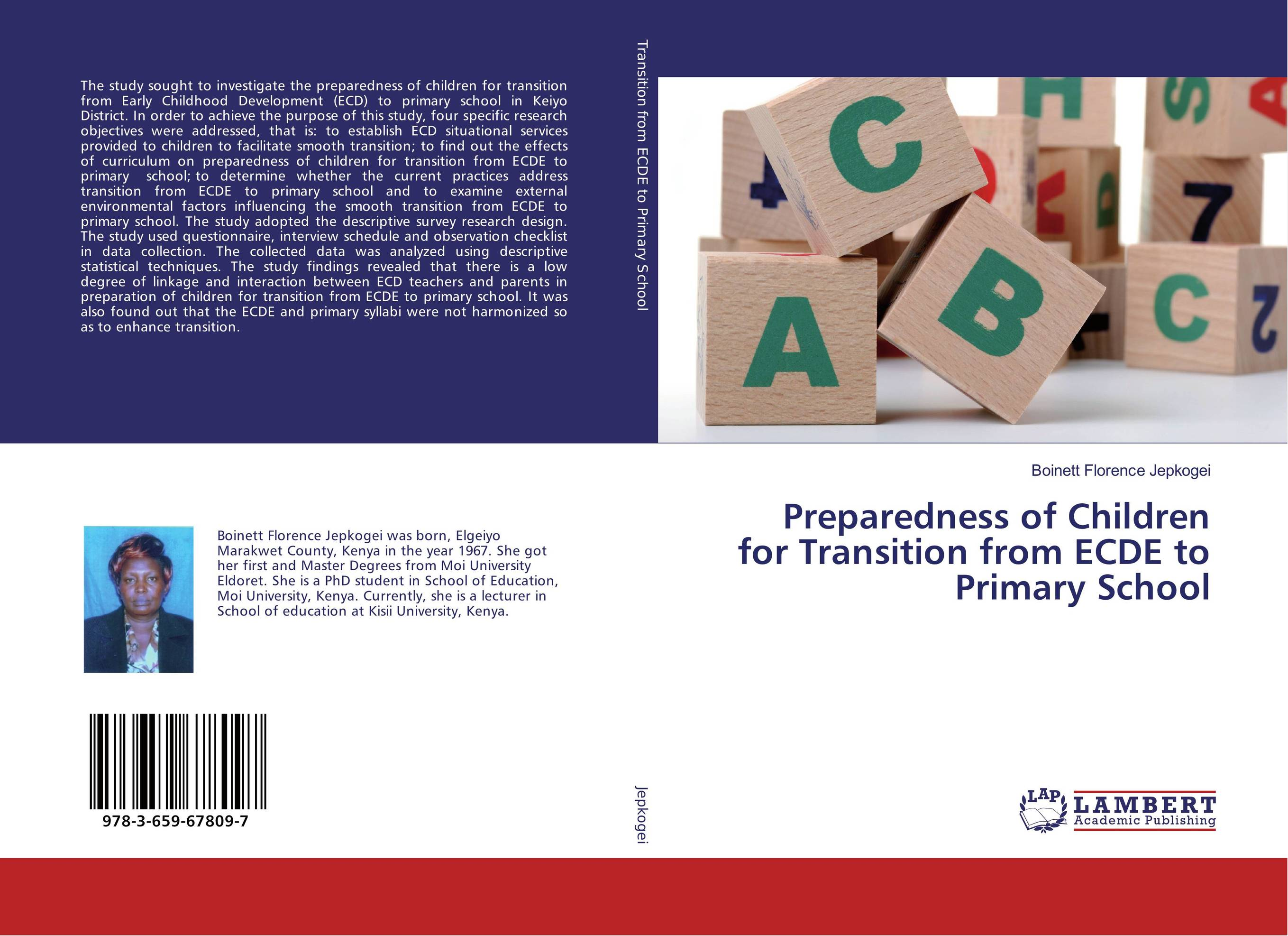 Preparedness of Children for Transition from ECDE to Primary School alan roxburgh missional map making skills for leading in times of transition