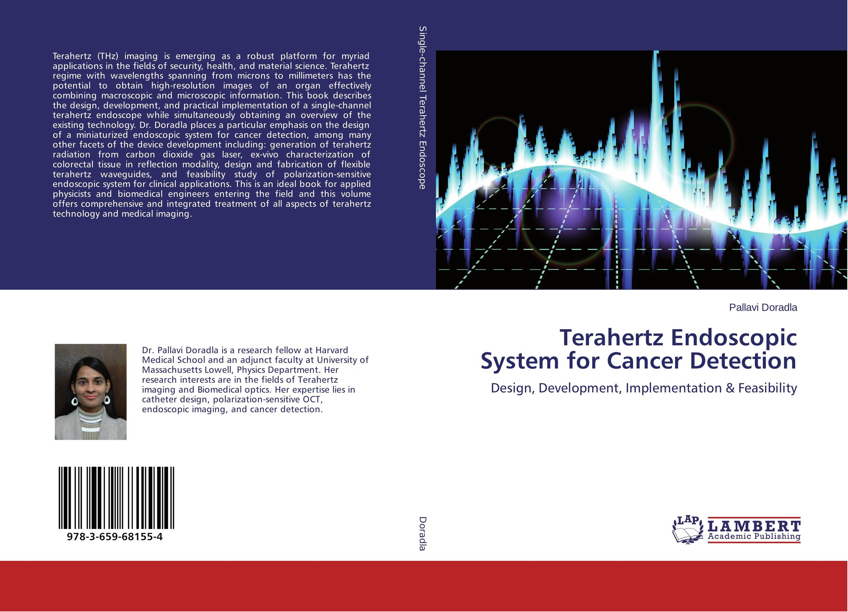 Terahertz Endoscopic System for Cancer Detection breast light detection device is the earlier cancer detection device which combine the 580nm and 645nm into one instrument