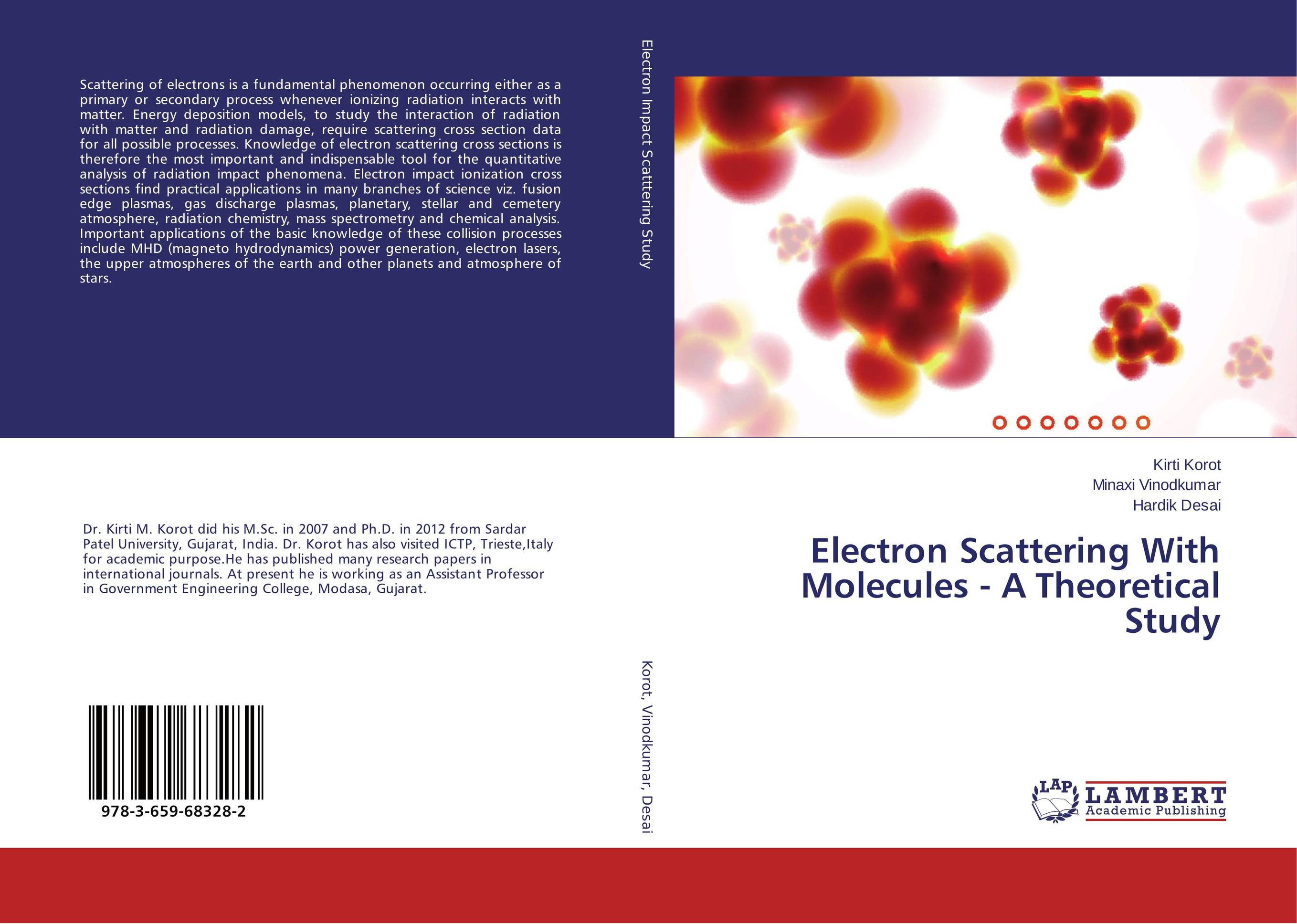 Electron Scattering With Molecules - A Theoretical Study