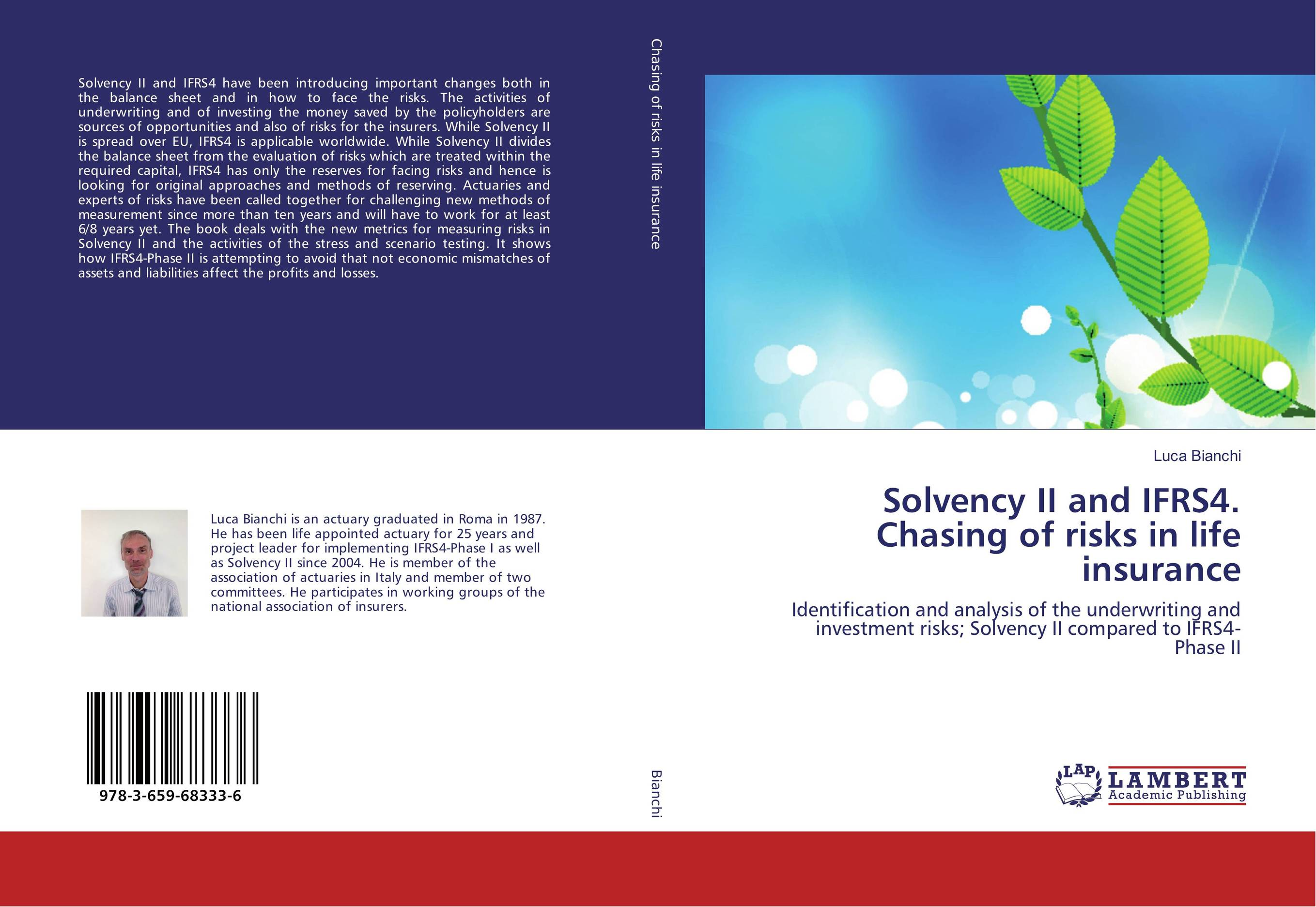 Solvency II and IFRS4. Chasing of risks in life insurance.