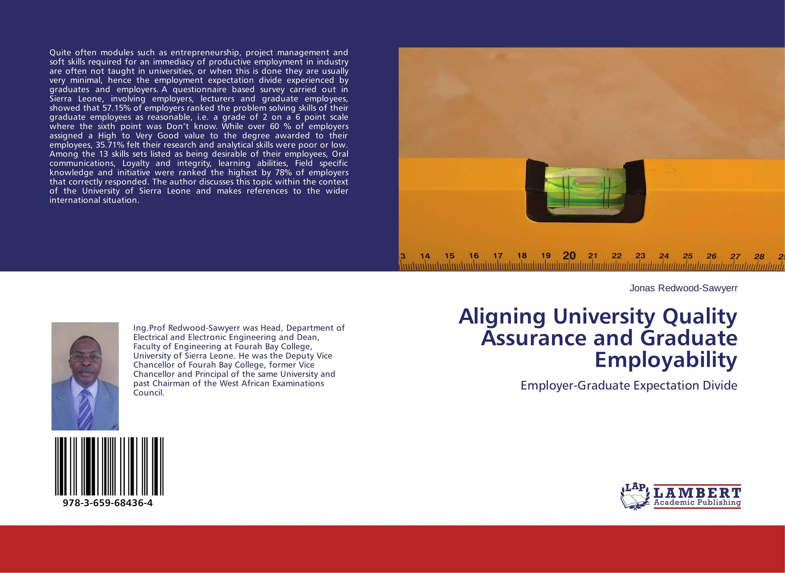 Aligning University Quality Assurance and Graduate Employability thomas winterbottom an accont of the native africans in the sierra leone vol 2