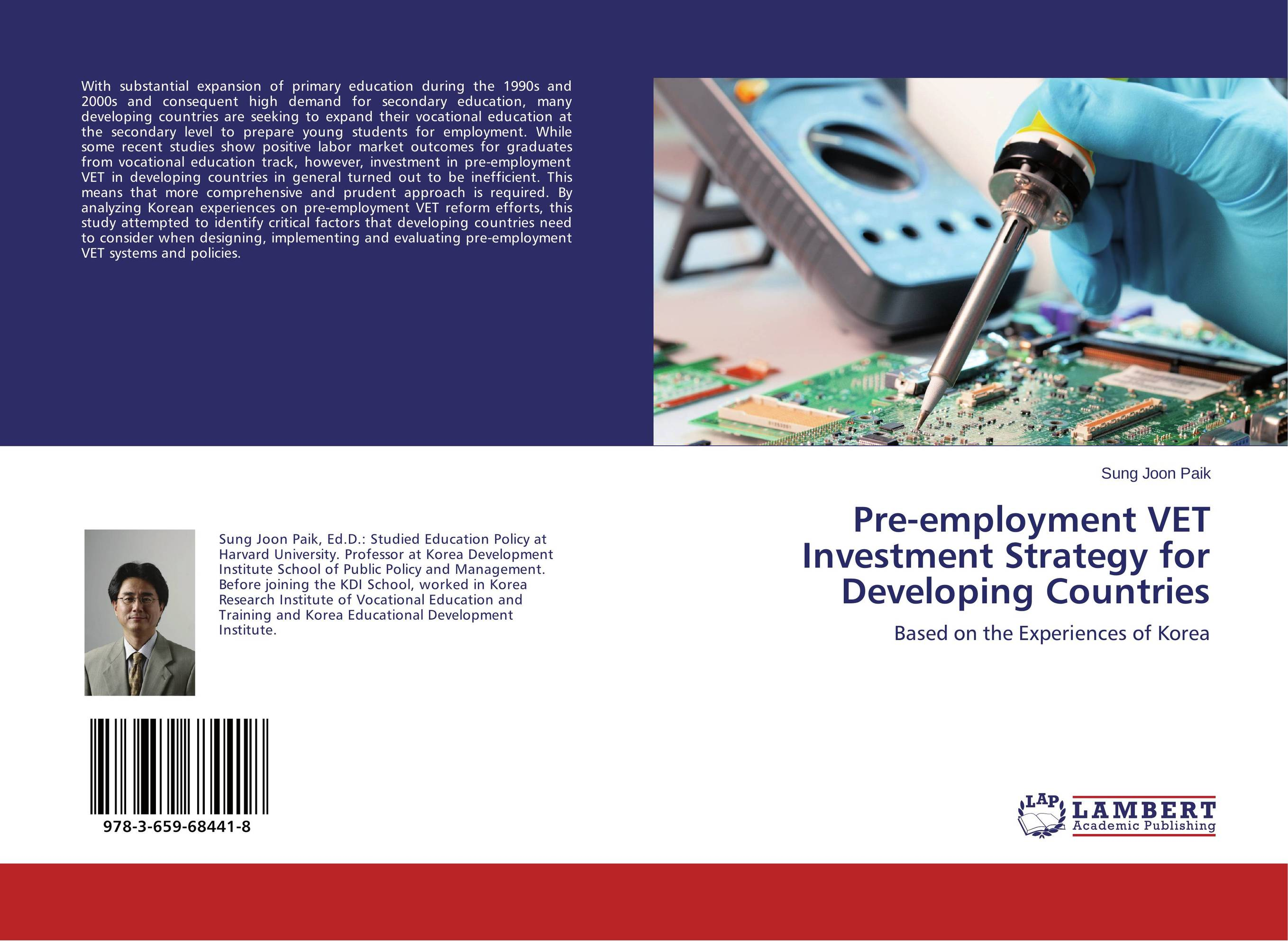 Pre-employment VET Investment Strategy for Developing Countries odell education developing core literacy proficiencies grade 12