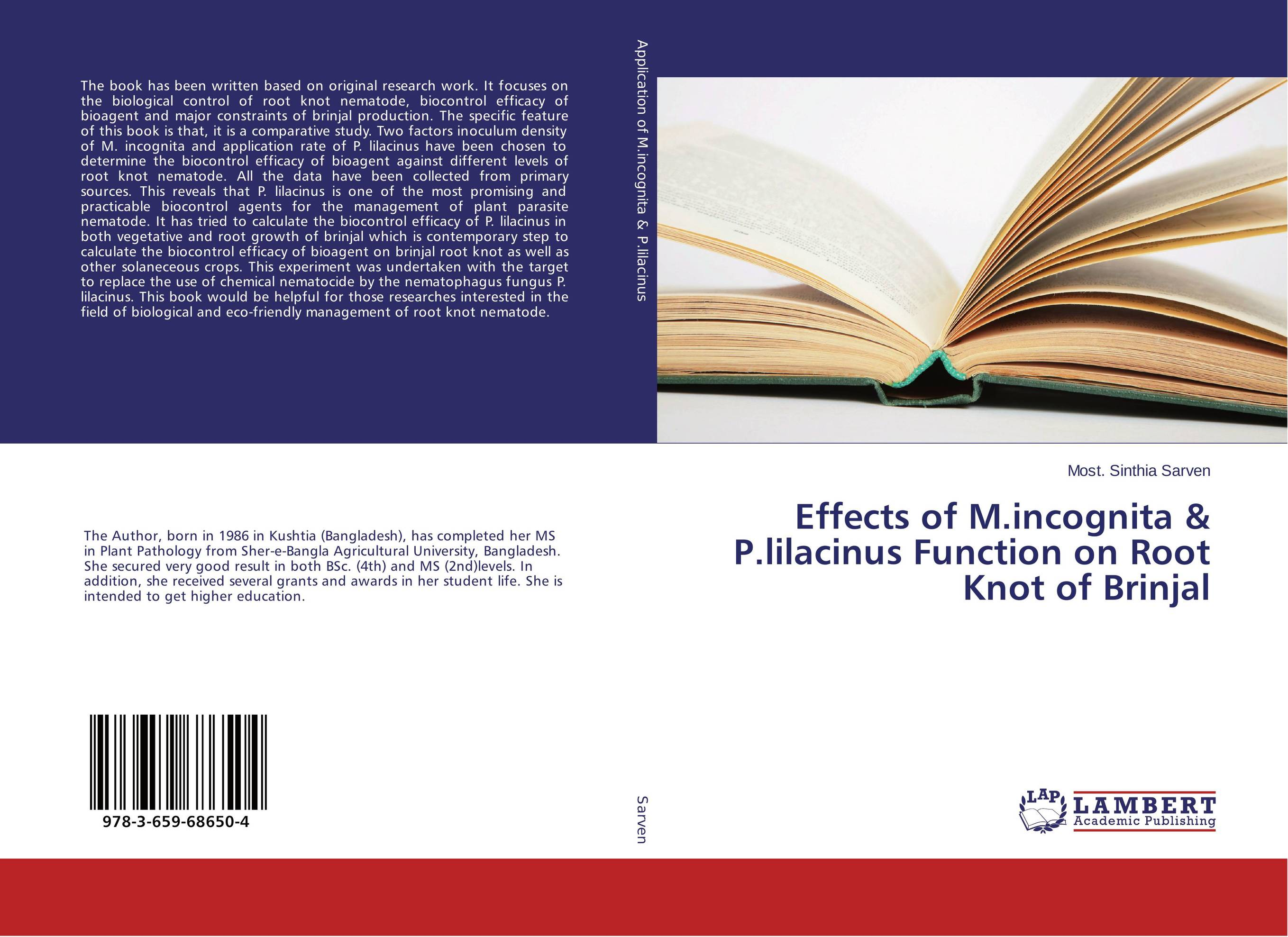 Effects of M.incognita & P.lilacinus Function on Root Knot of Brinjal root and canal morphology of third molar