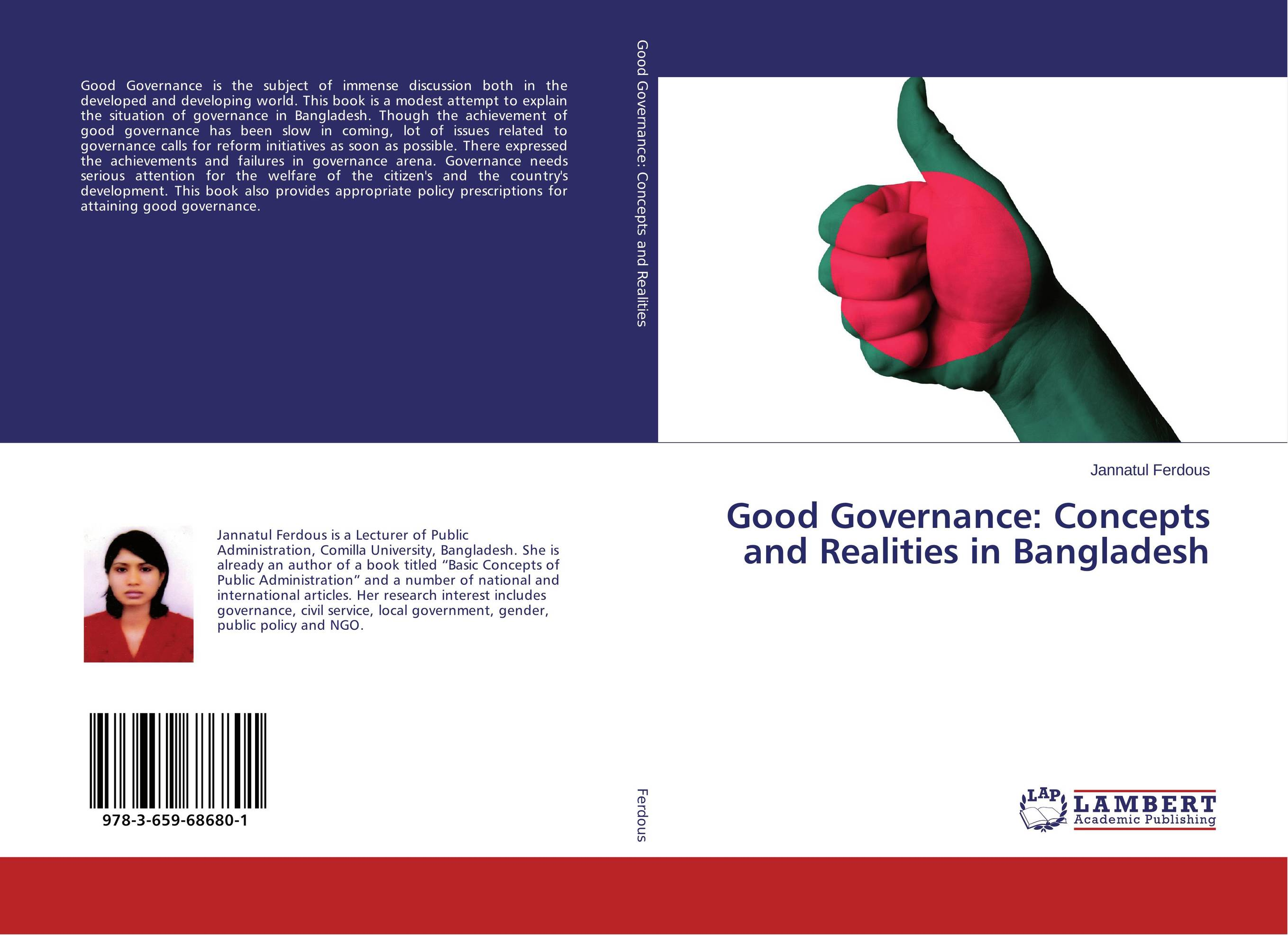 Good Governance: Concepts and Realities in Bangladesh купить