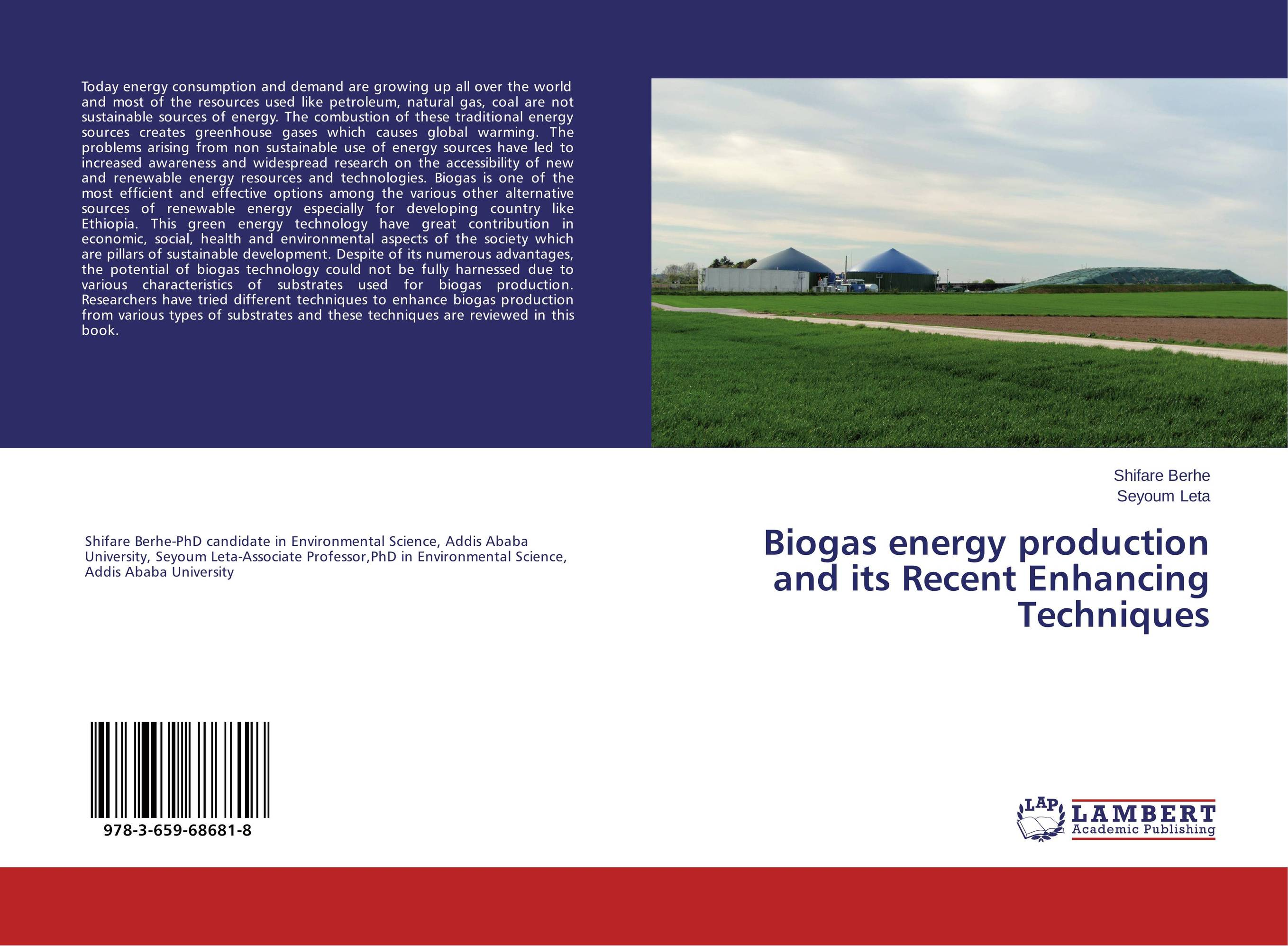 Biogas energy production and its Recent Enhancing Techniques assessing the economic aspects of biogas plants