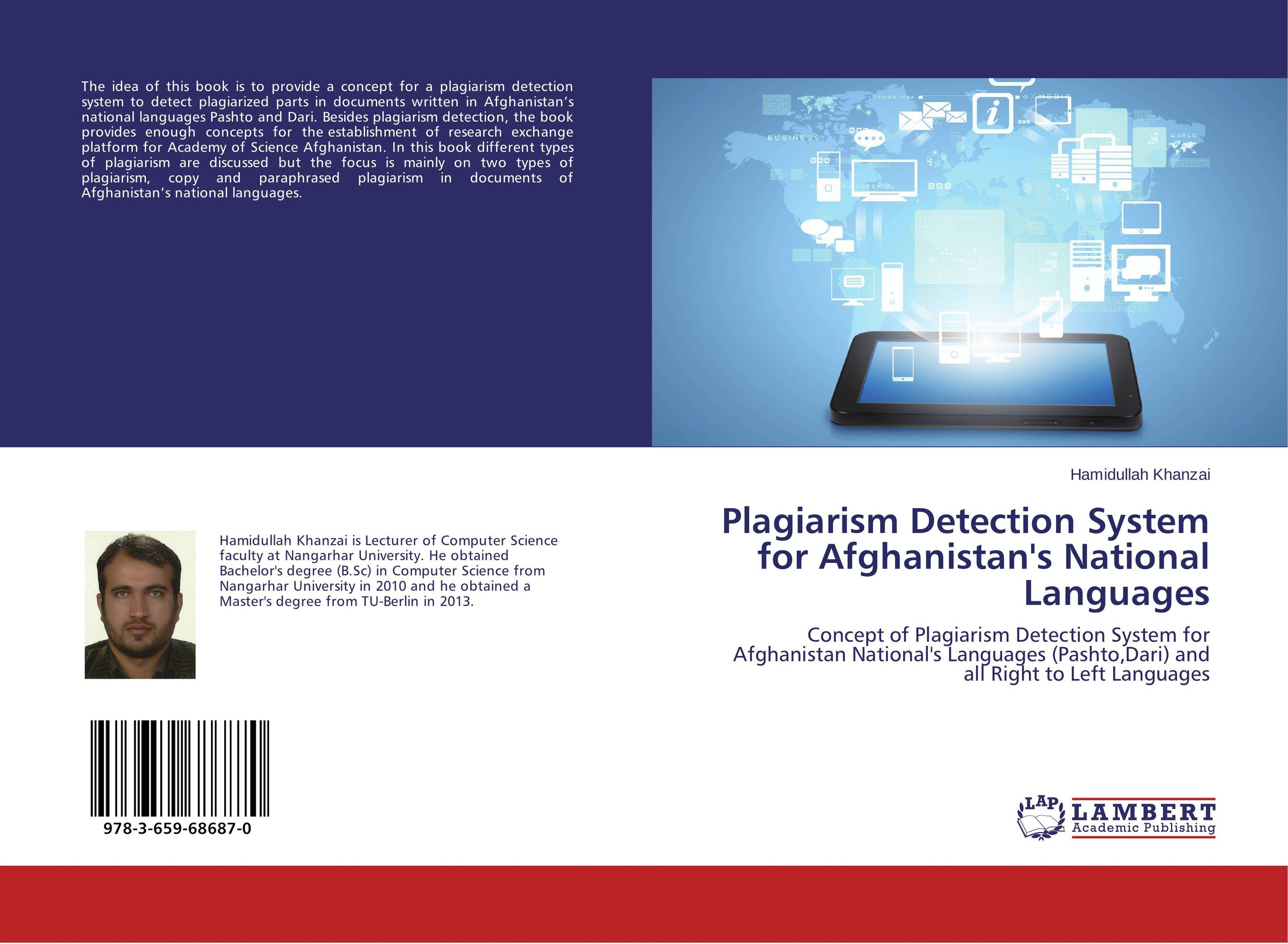 Plagiarism Detection System for Afghanistan's National Languages