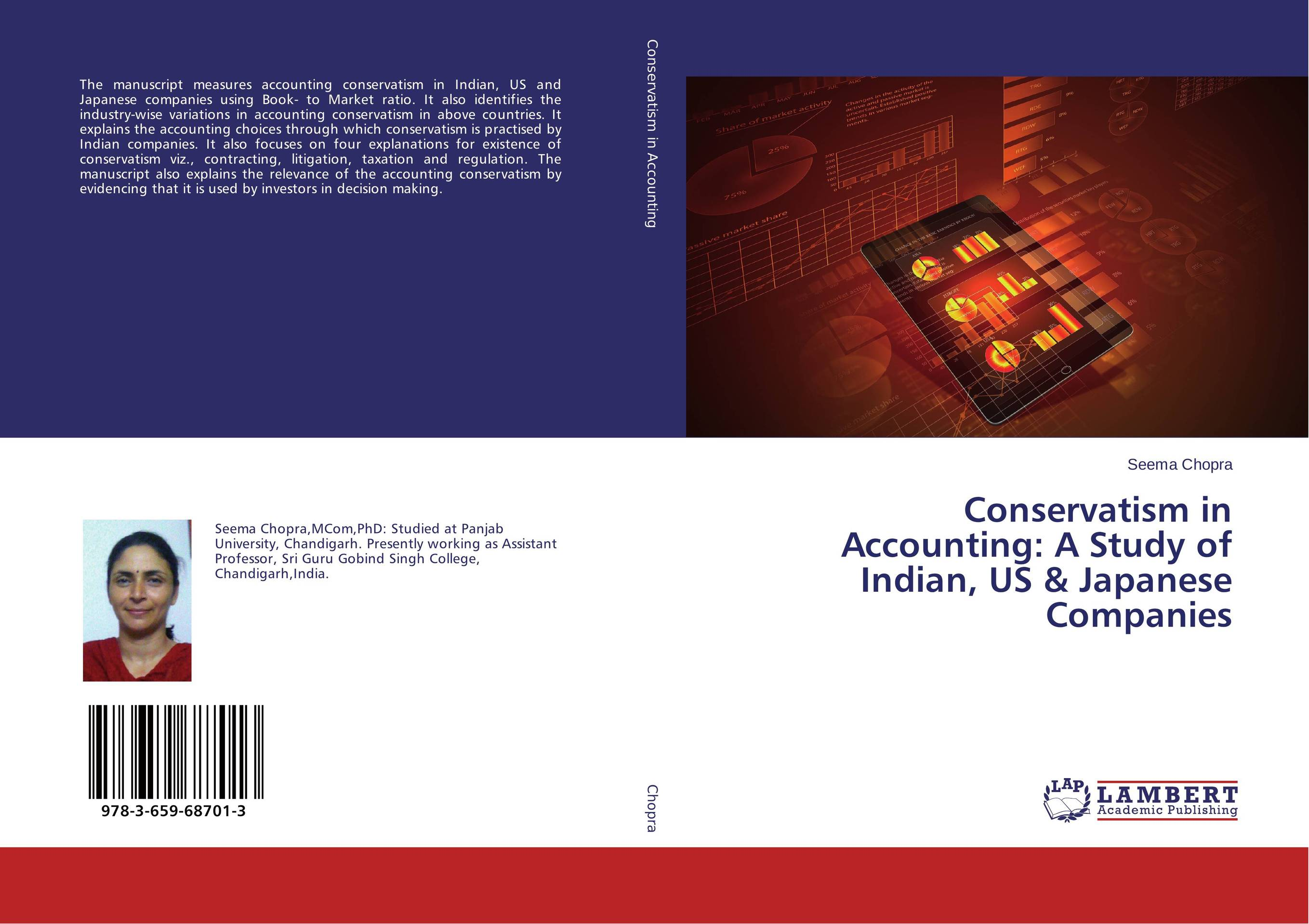 Conservatism in Accounting: A Study of Indian, US & Japanese Companies manuscript found in accra