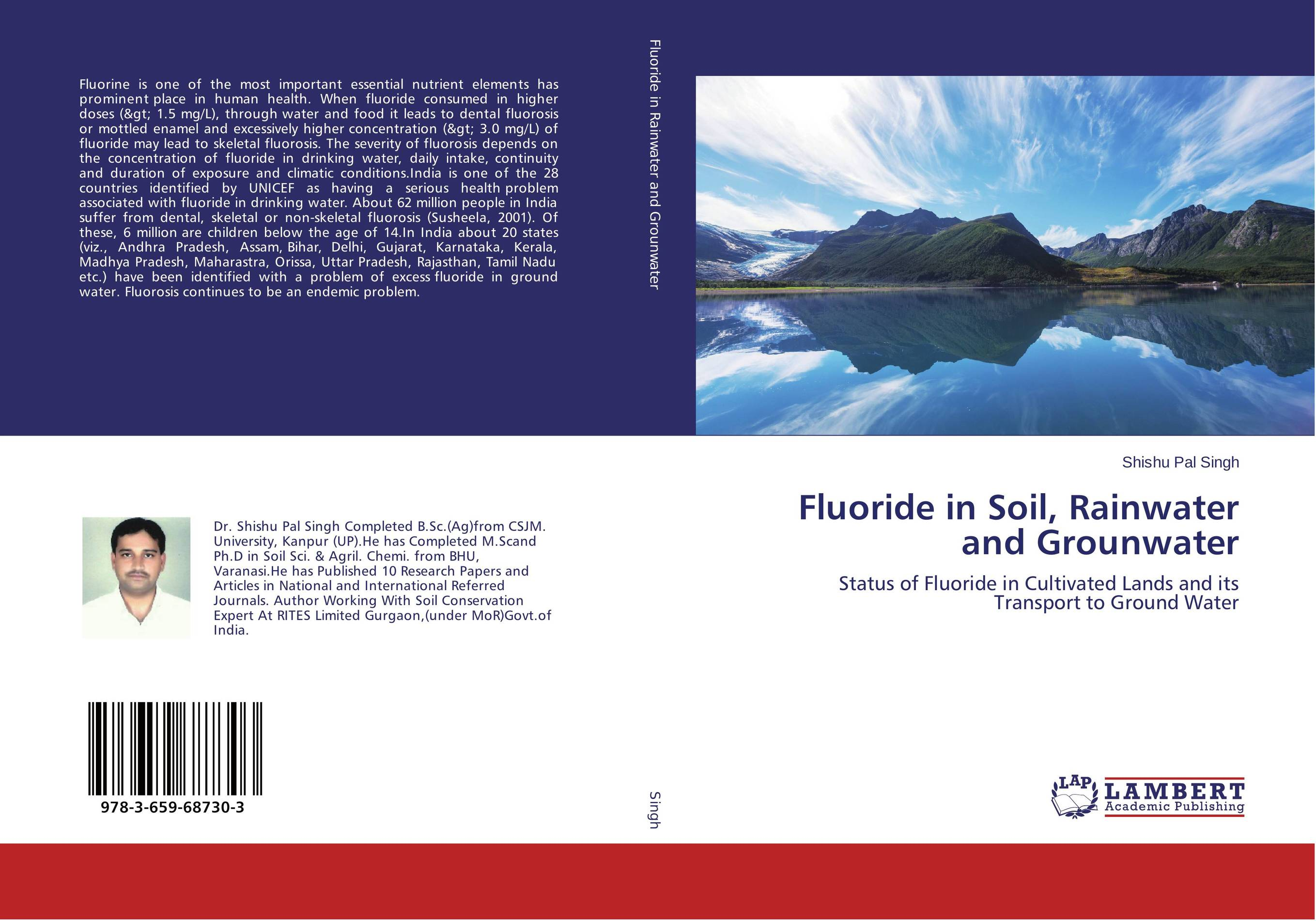 Fluoride in Soil, Rainwater and Grounwater fluoride rechargeability