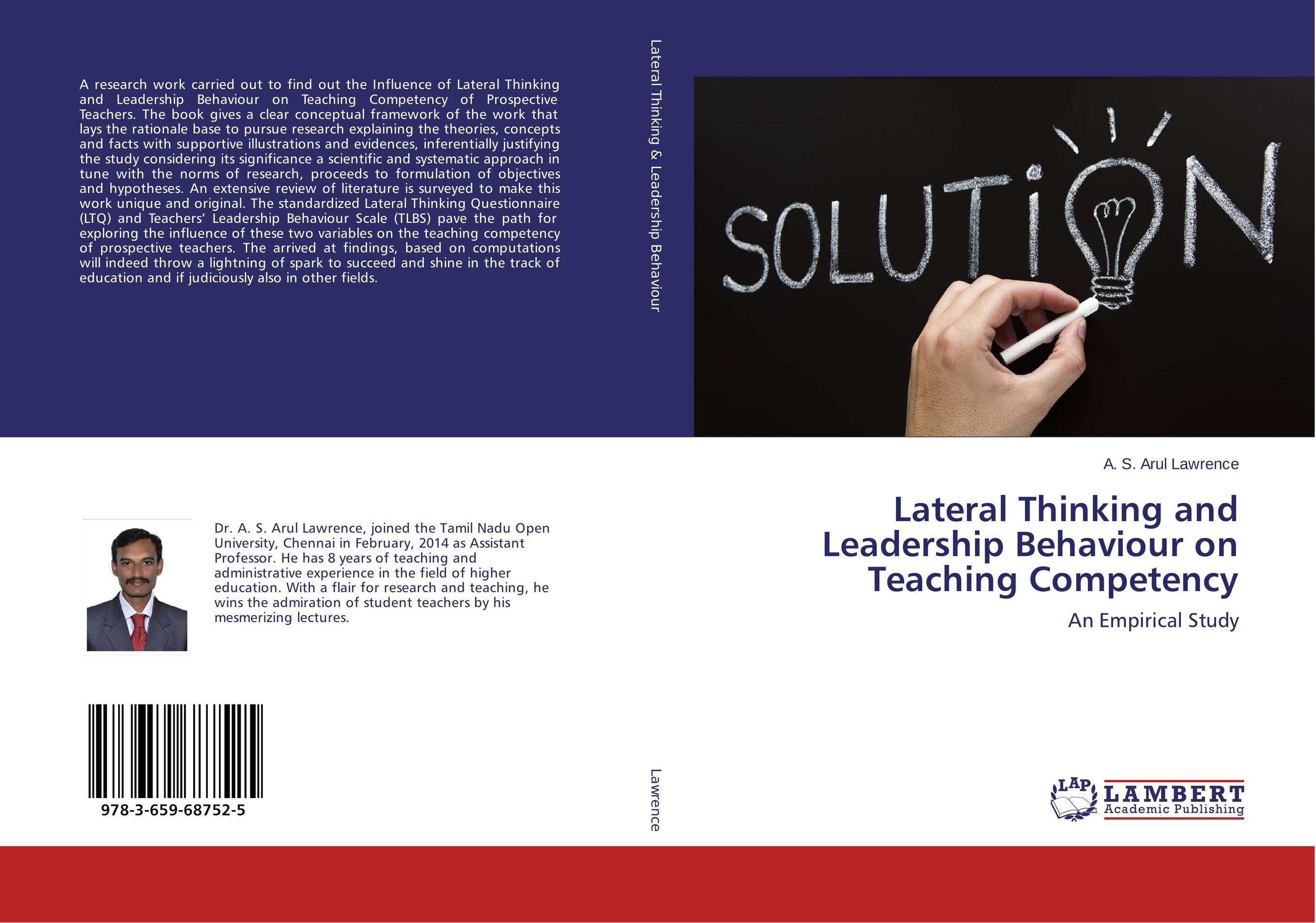 Lateral Thinking and Leadership Behaviour on Teaching Competency