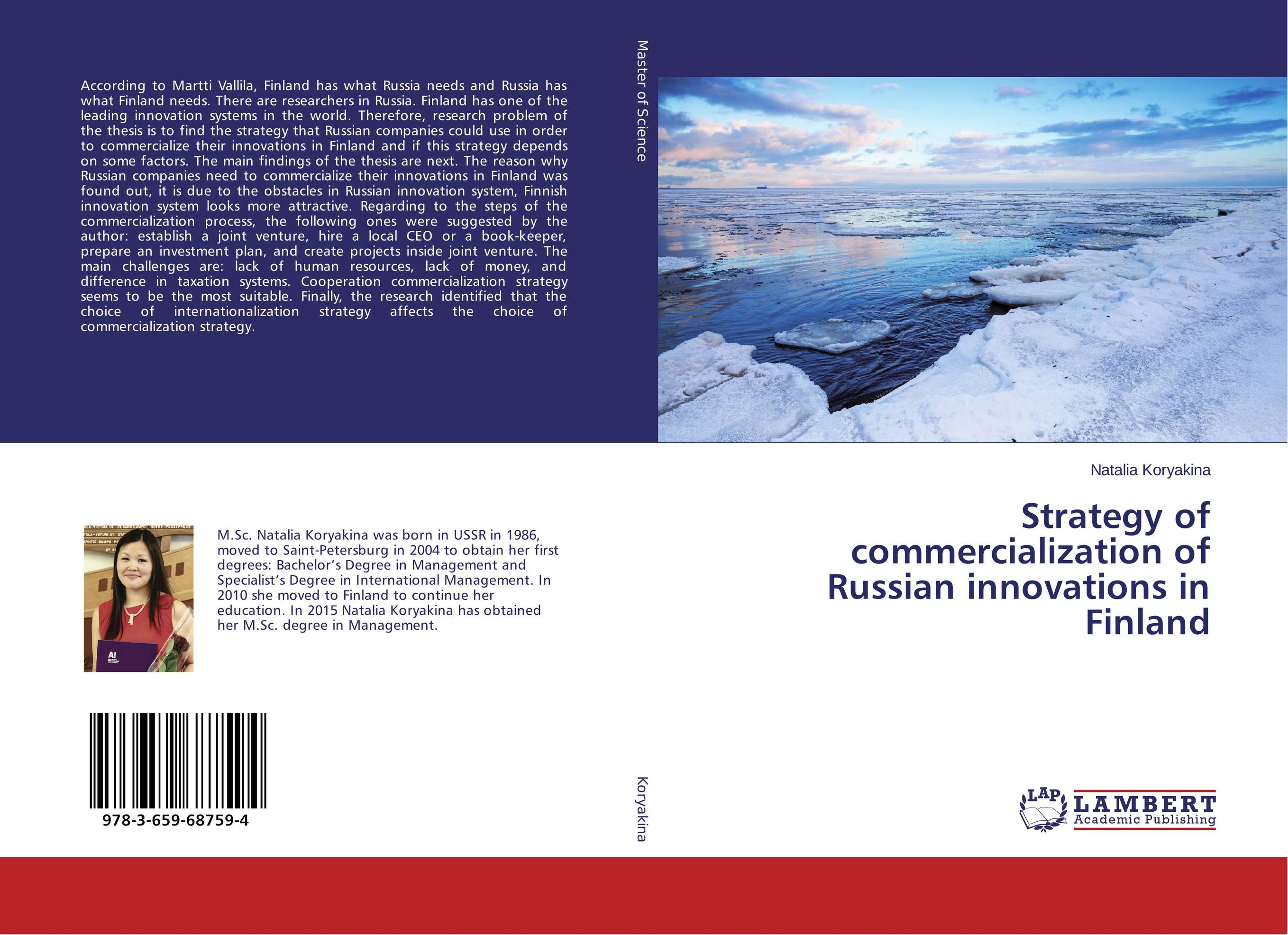 Strategy of commercialization of Russian innovations in Finland duncan bruce the dream cafe lessons in the art of radical innovation