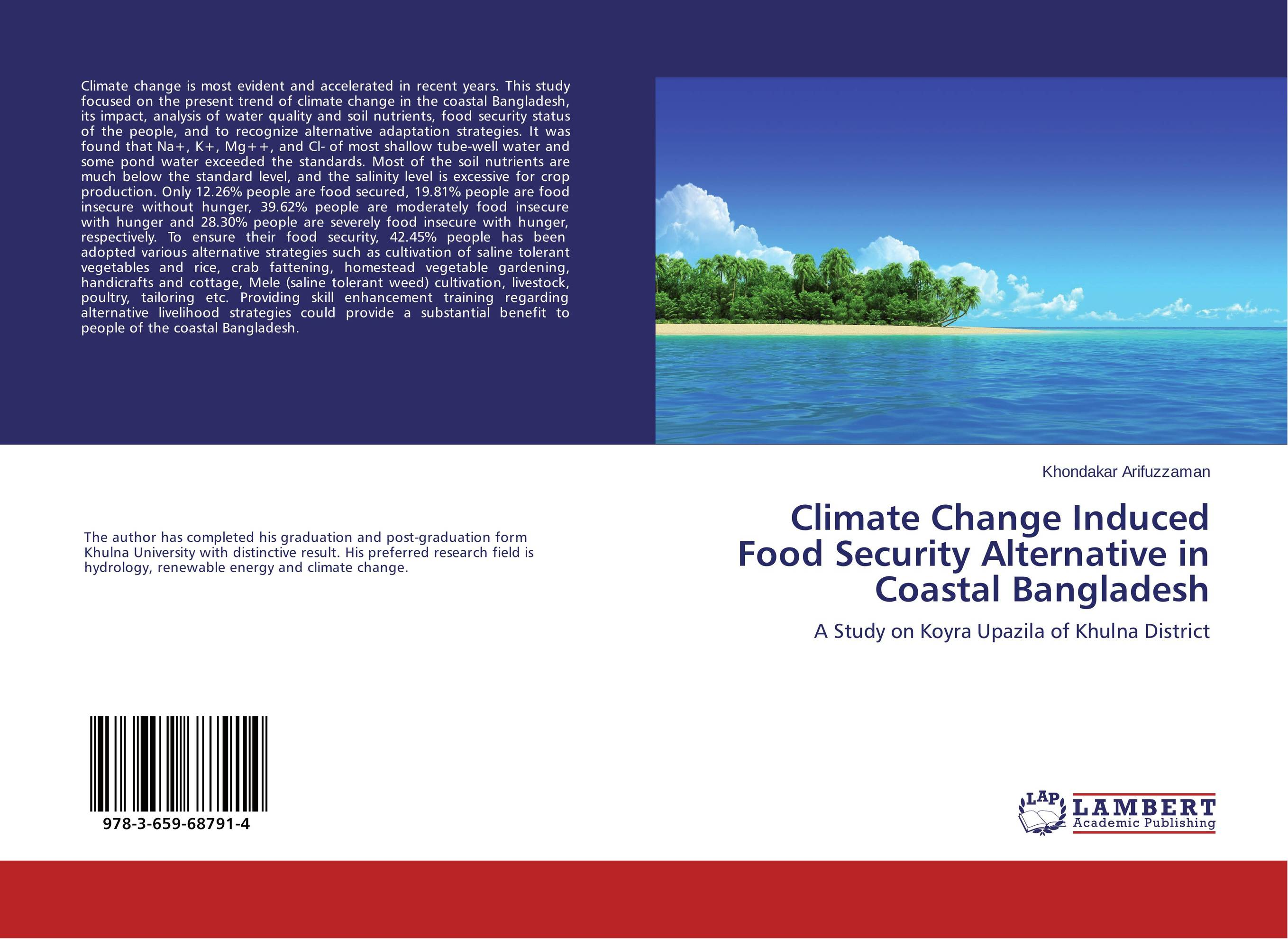 Climate Change Induced Food Security Alternative in Coastal Bangladesh climate change initiatives and strategies
