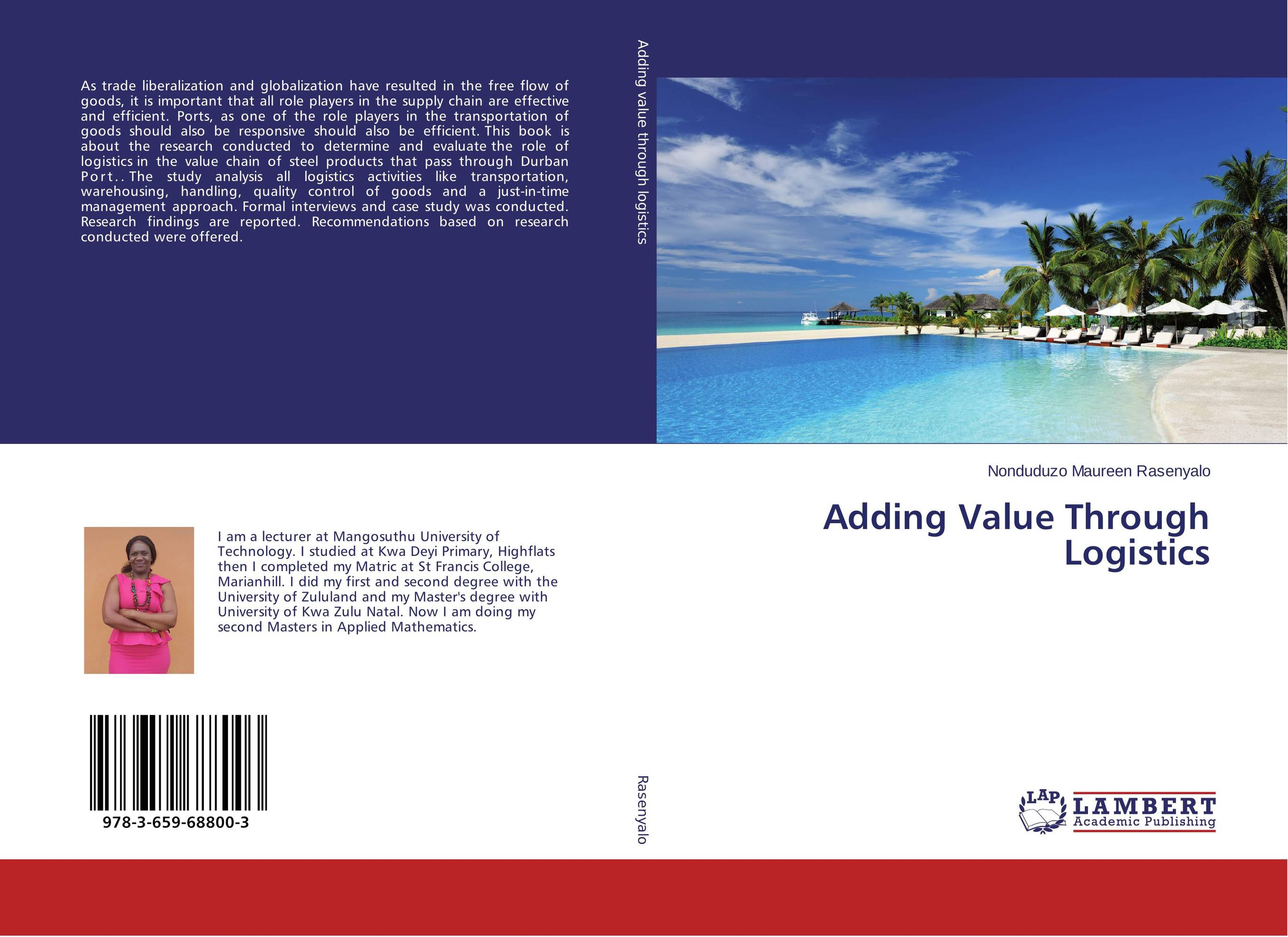 Adding Value Through Logistics the organizational role of the supply chain manager