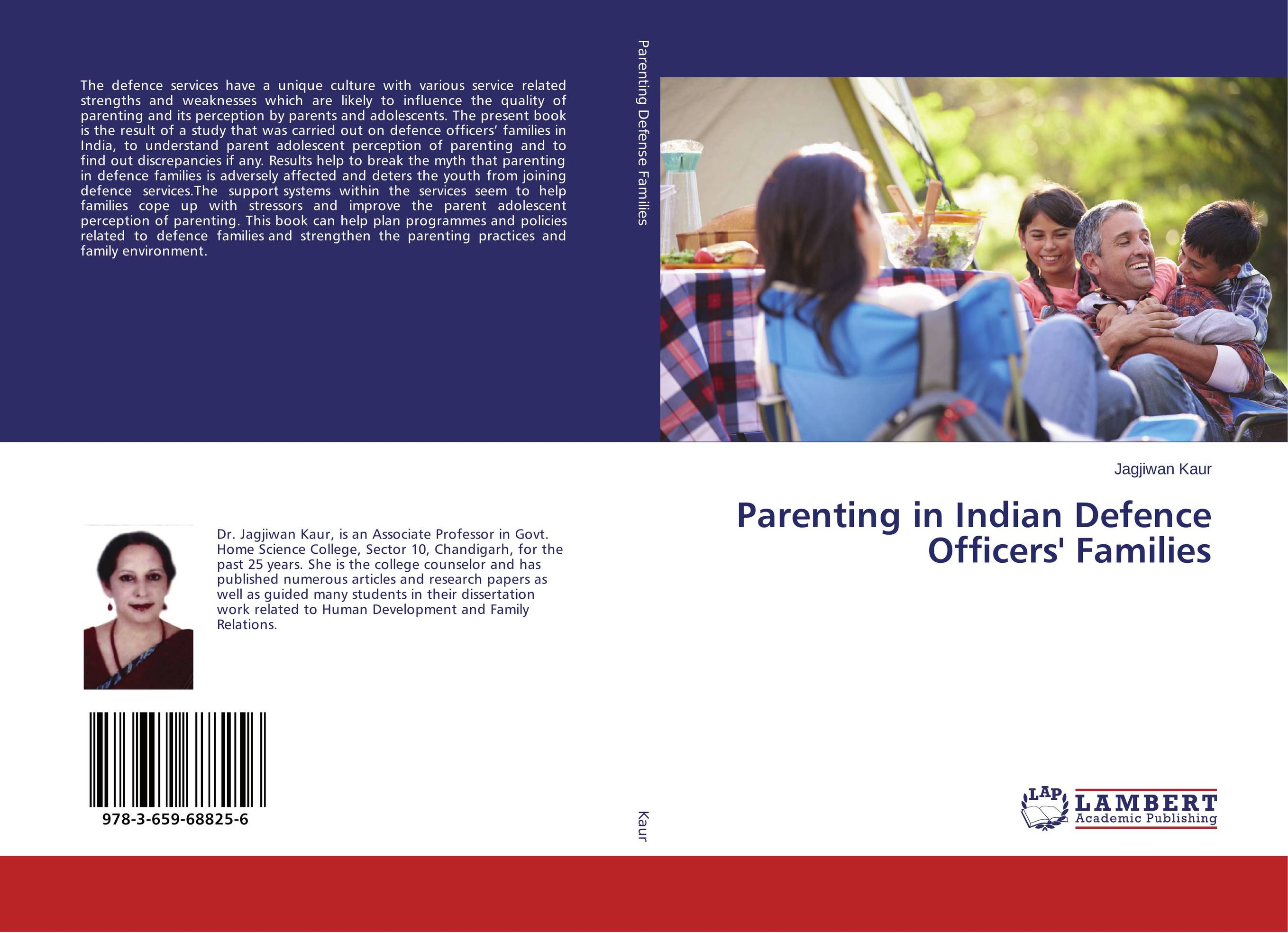 Parenting in Indian Defence Officers' Families ripudaman singh arihant kaur bhalla and er gurkamal singh adolescents of intact families and orphanages