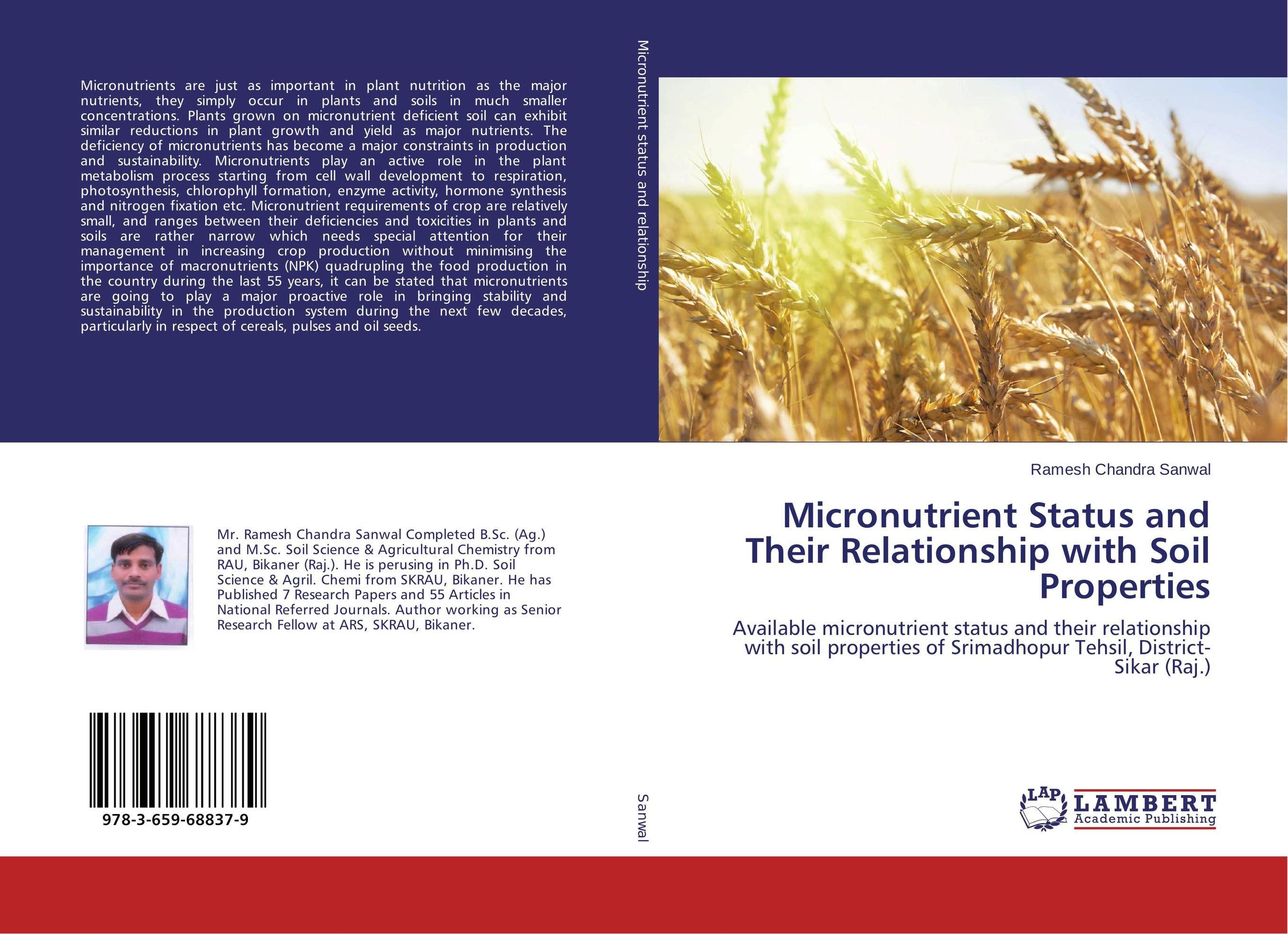 Micronutrient Status and Their Relationship with Soil Properties adding value to the citrus pulp by enzyme biotechnology production