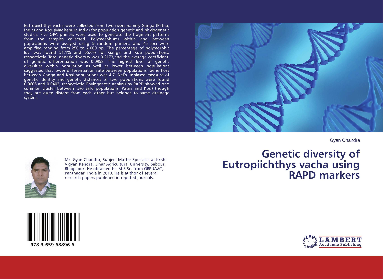 Genetic diversity of Eutropiichthys vacha using RAPD markers genetic diversity in linseed