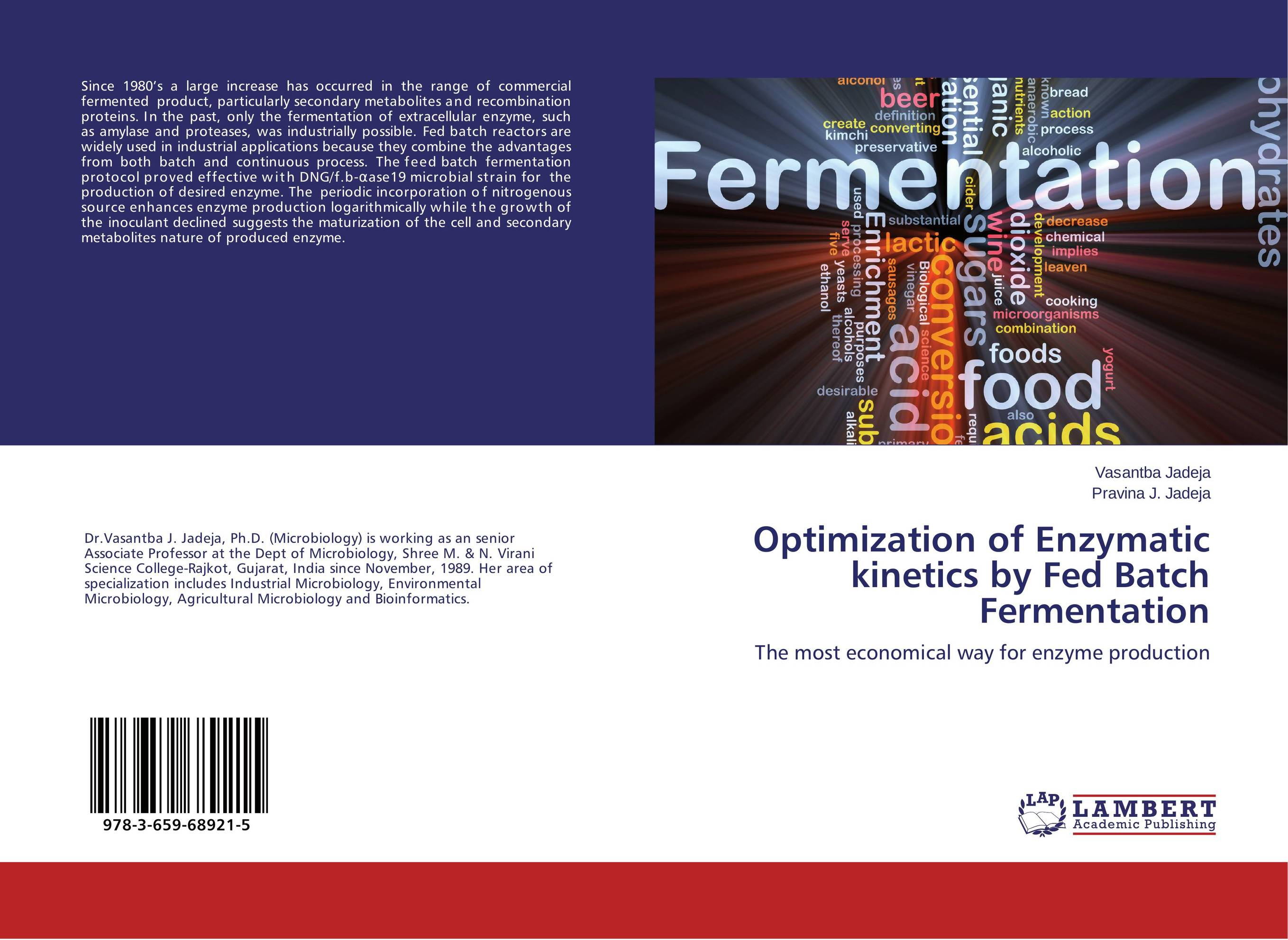 Optimization of Enzymatic kinetics by Fed Batch Fermentation enzyme electrodes for biosensor & biofuel cell applications page 5