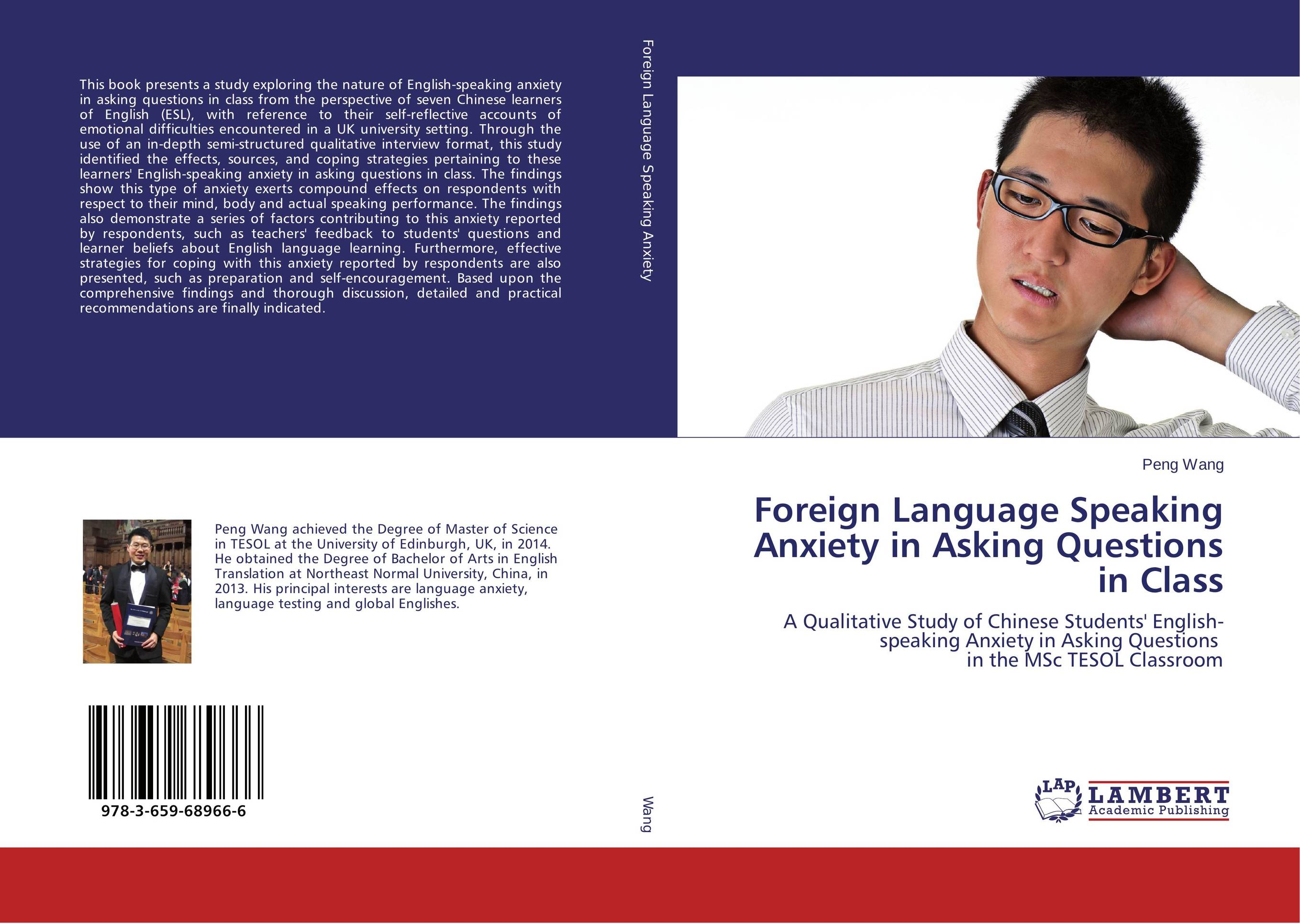 Foreign Language Speaking Anxiety in Asking Questions in Class learner autonomy and web based language learning wbll