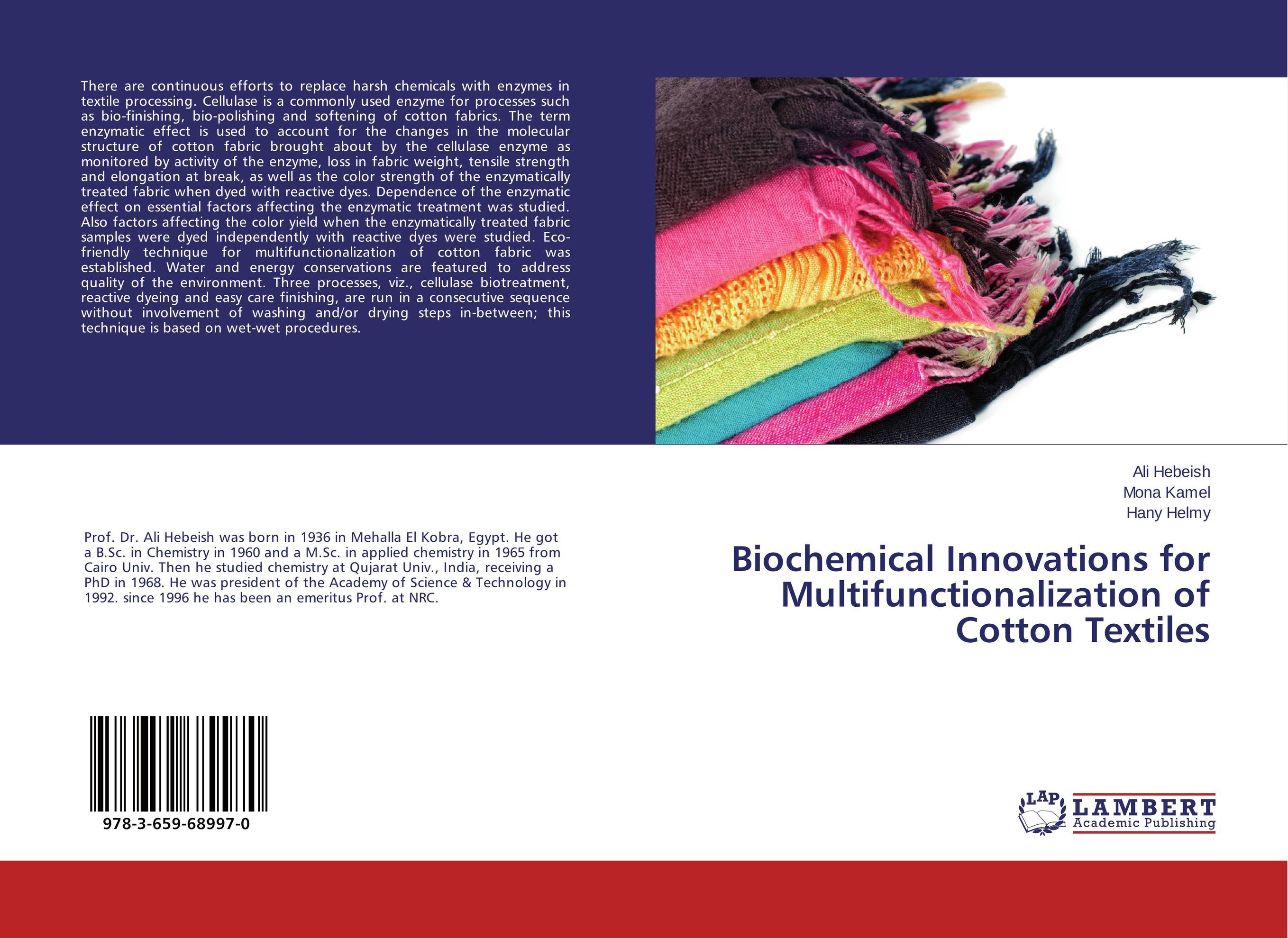 Biochemical Innovations for Multifunctionalization of Cotton Textiles natural dyes for textiles
