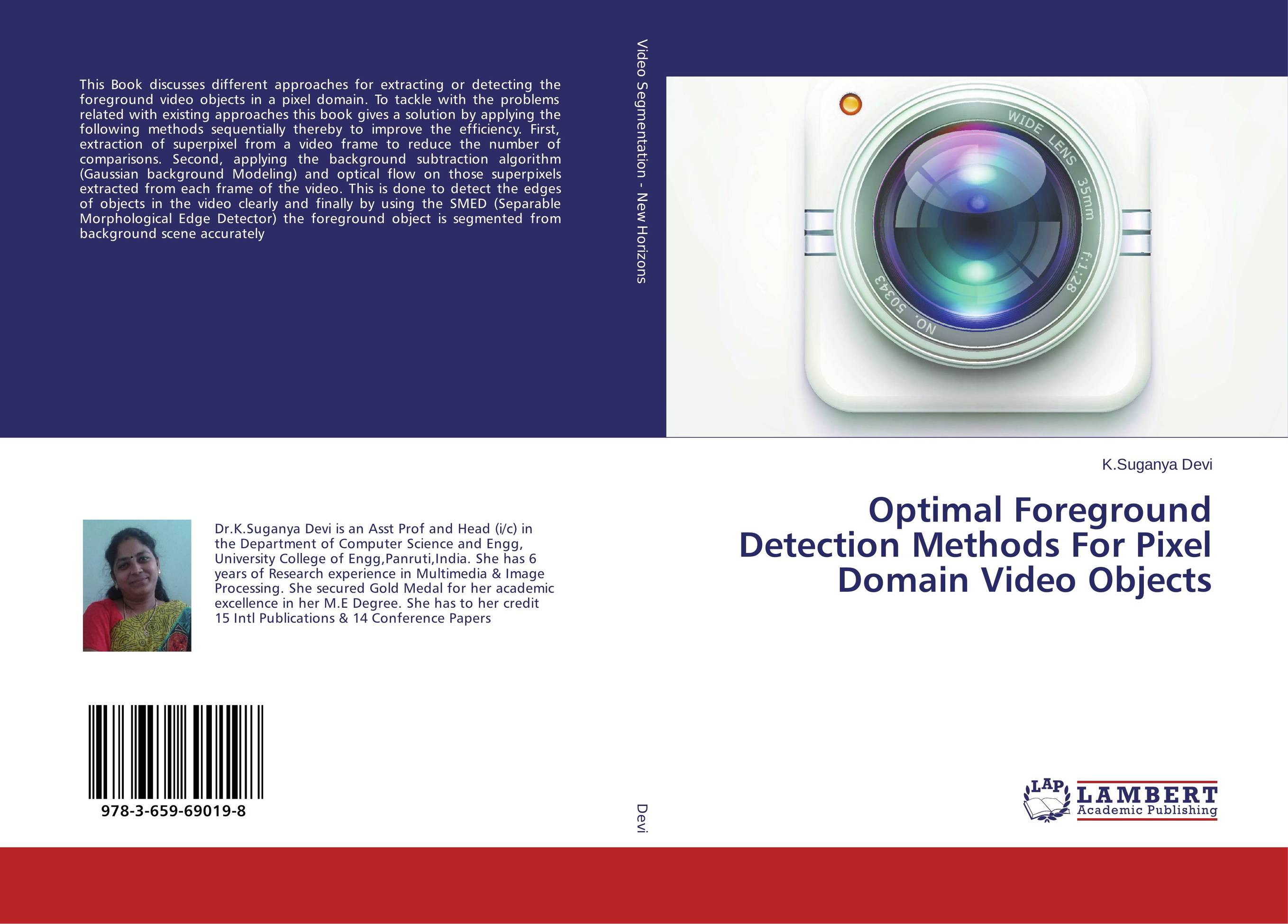 Optimal Foreground Detection Methods For Pixel Domain Video Objects the limiting background in a detector testing facility for supercdms