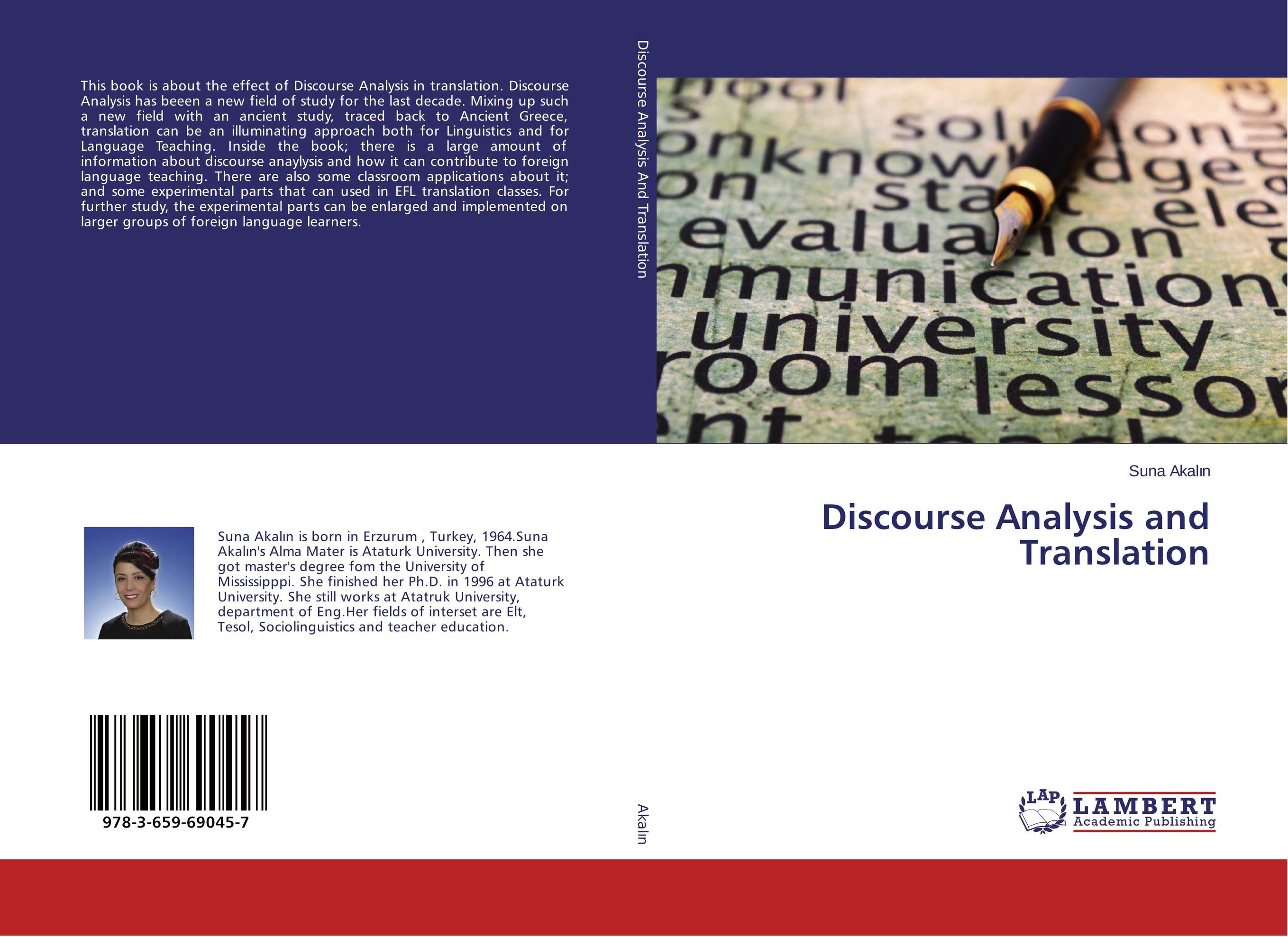 Discourse Analysis and Translation