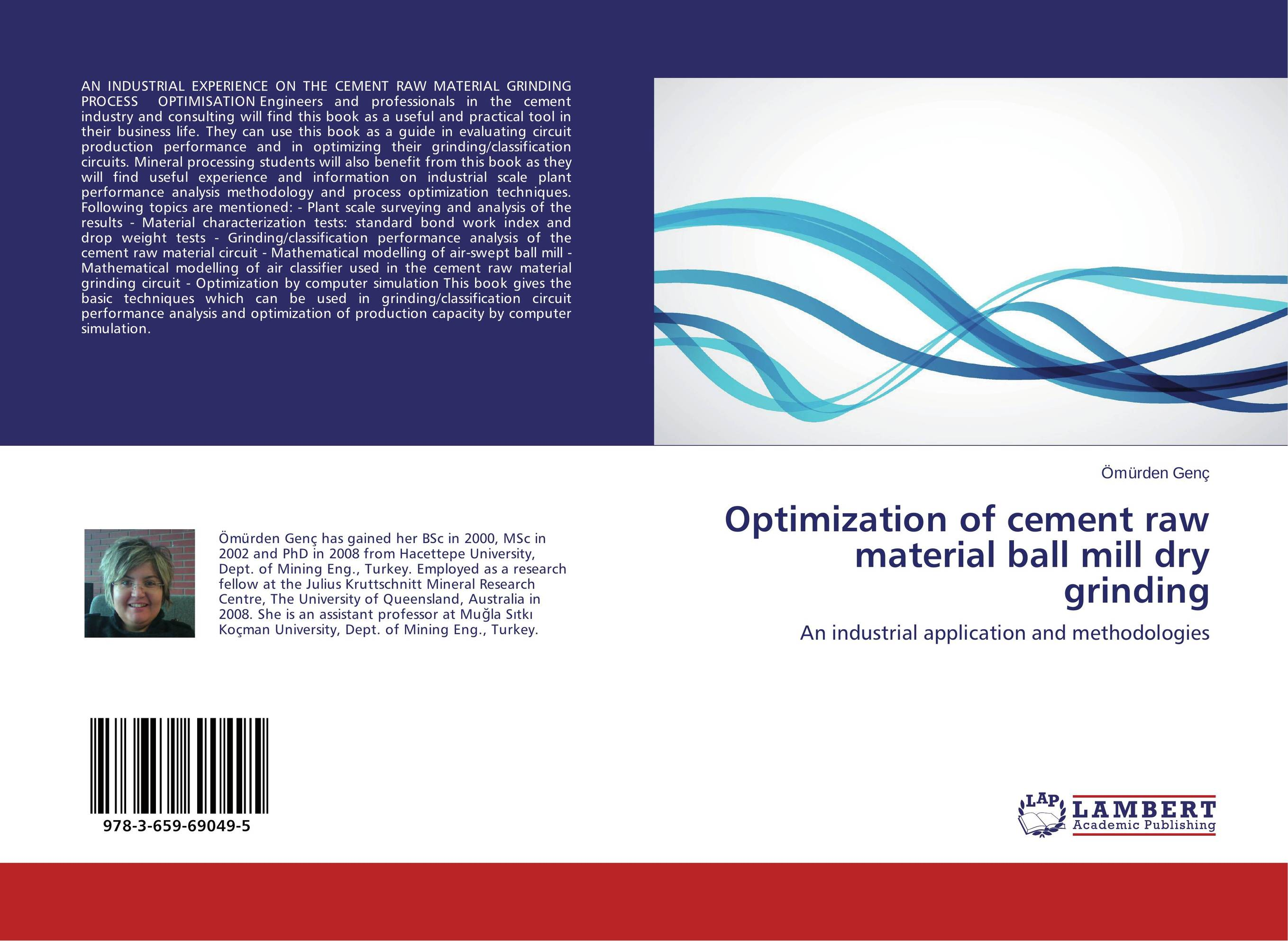 Optimization of cement raw material ball mill dry grinding optimization modeling and mathematical analysis