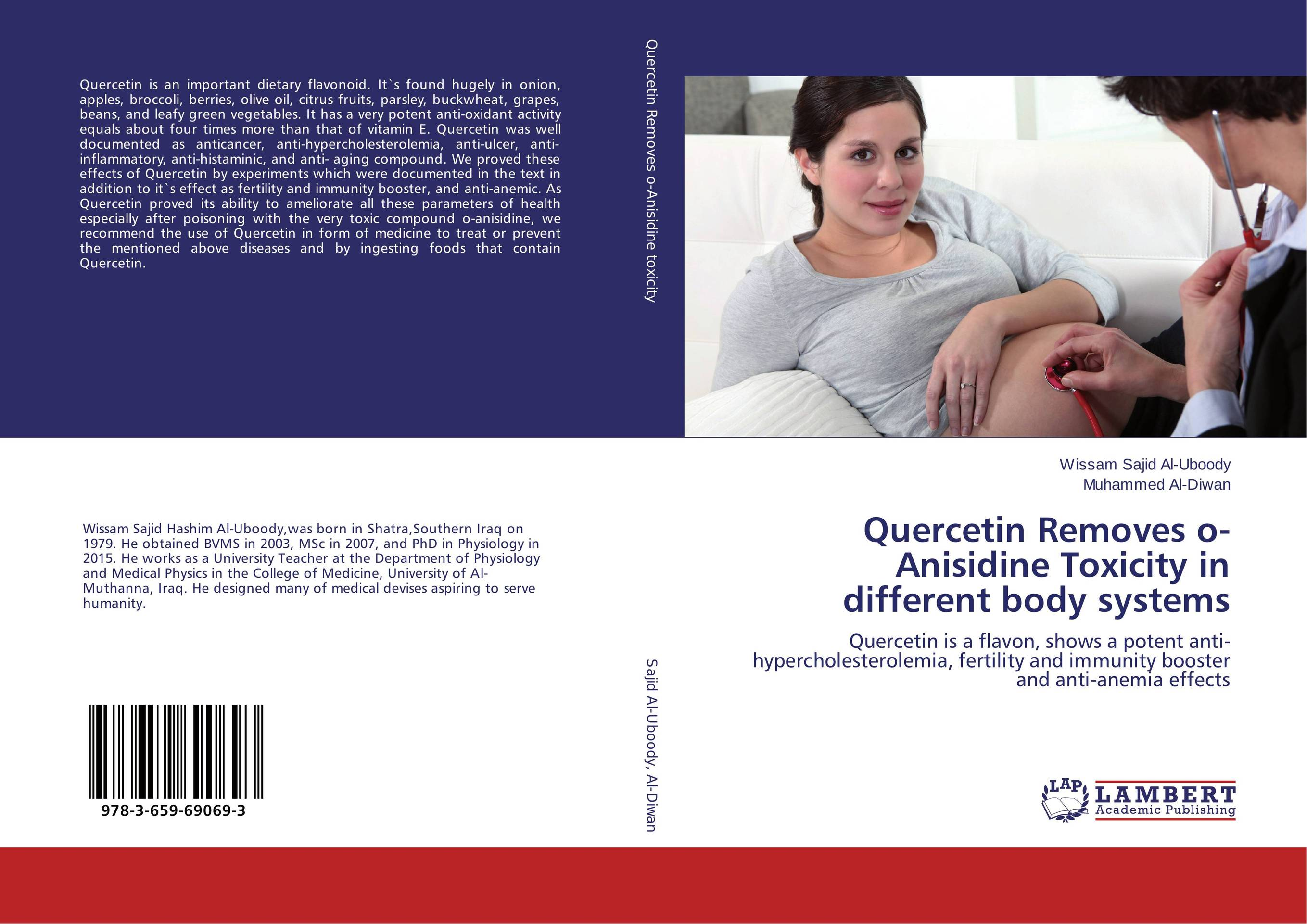 Quercetin Removes o-Anisidine Toxicity in different body systems inhibition of amylase by quercetin from zephyranthes candida