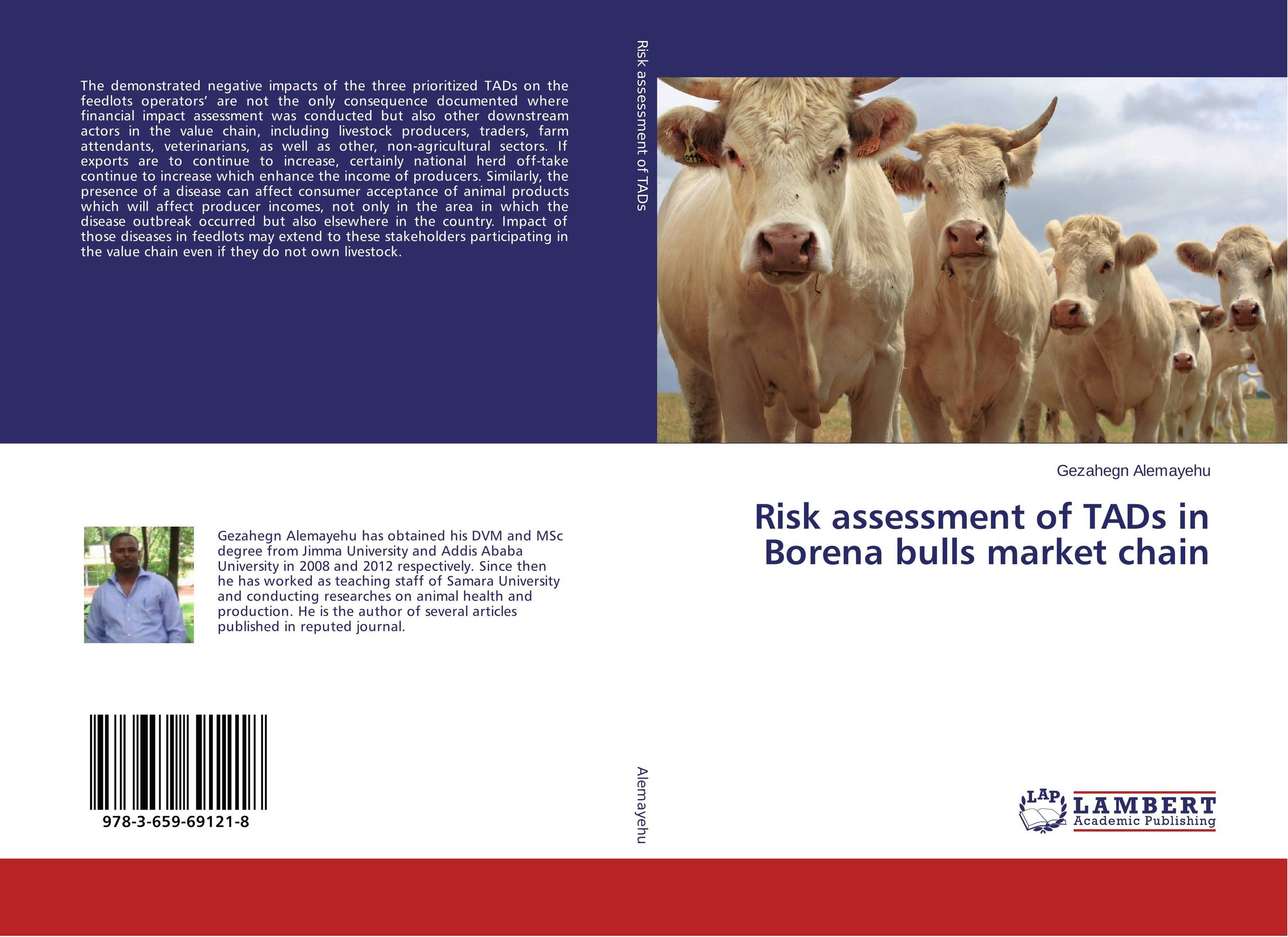 Risk assessment of TADs in Borena bulls market chain value chain
