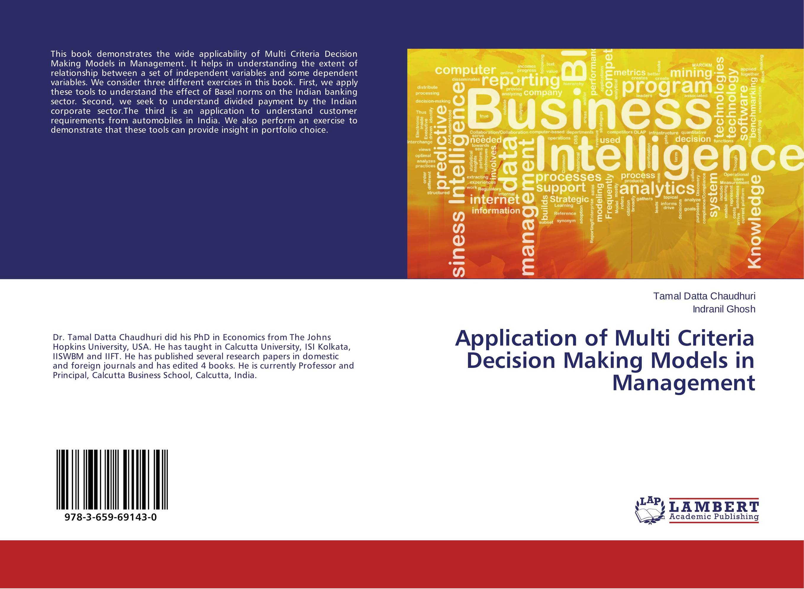 Application of Multi Criteria Decision Making Models in Management