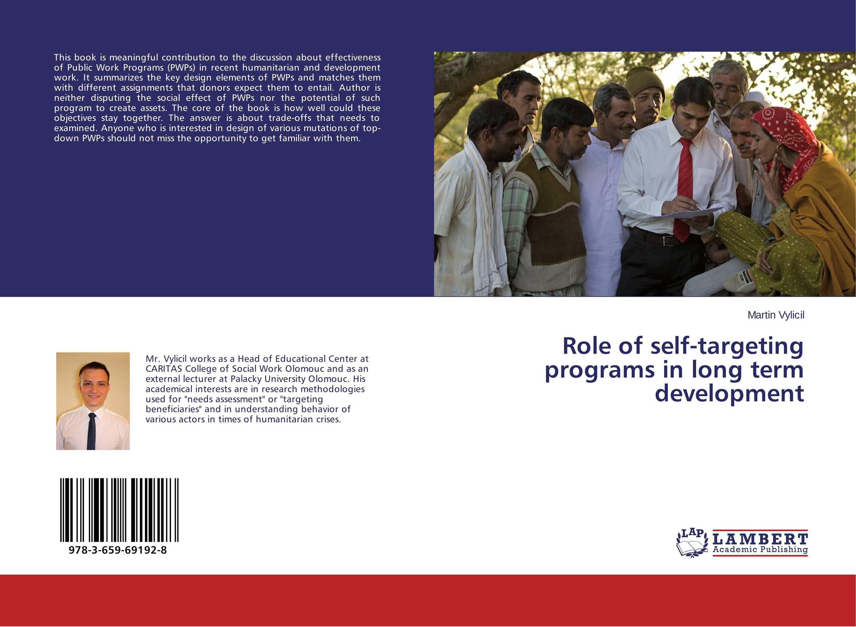Role of self-targeting programs in long term development
