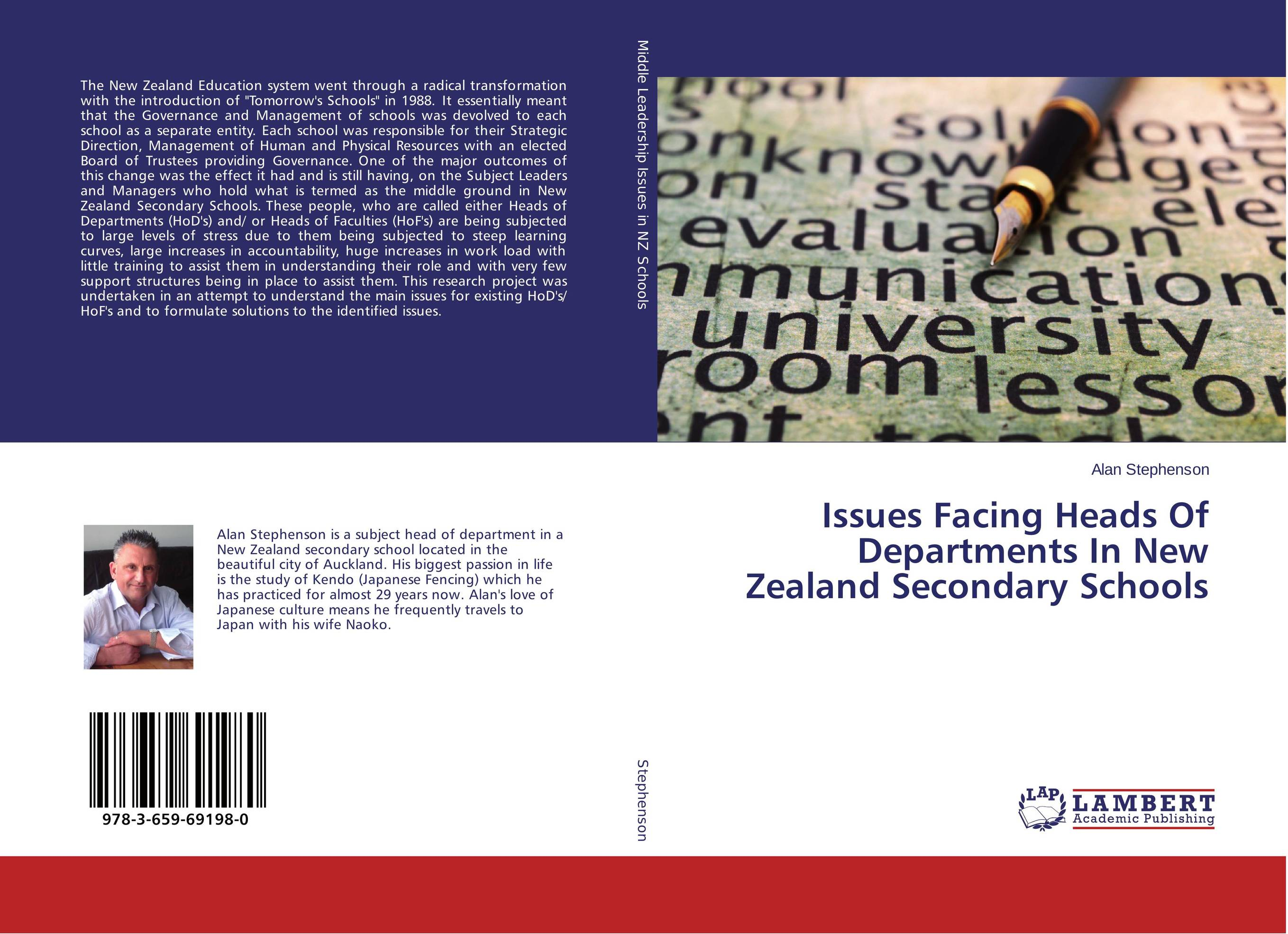 Issues Facing Heads Of Departments In New Zealand Secondary Schools administrative challenges facing public secondary schools