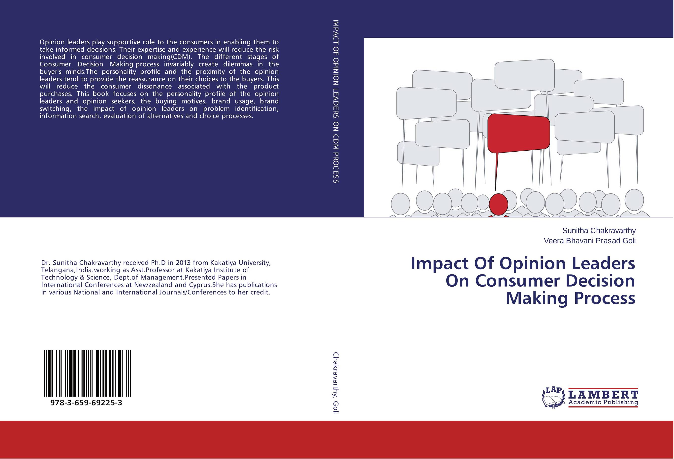 Impact Of Opinion Leaders On Consumer Decision Making Process nicholas michael the little black book of decision making
