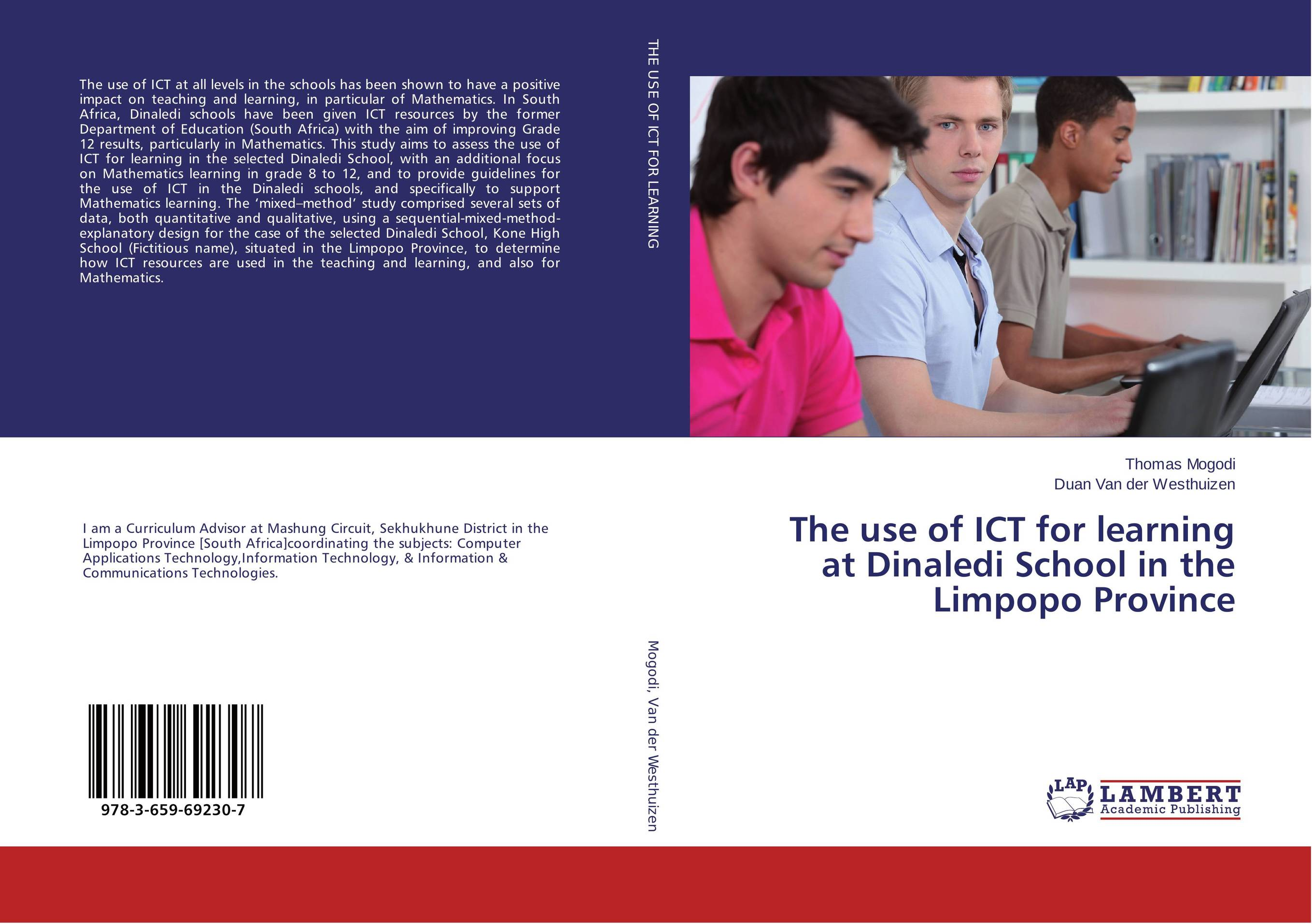 The use of ICT for learning at Dinaledi School in the Limpopo Province learning resources набор пробей