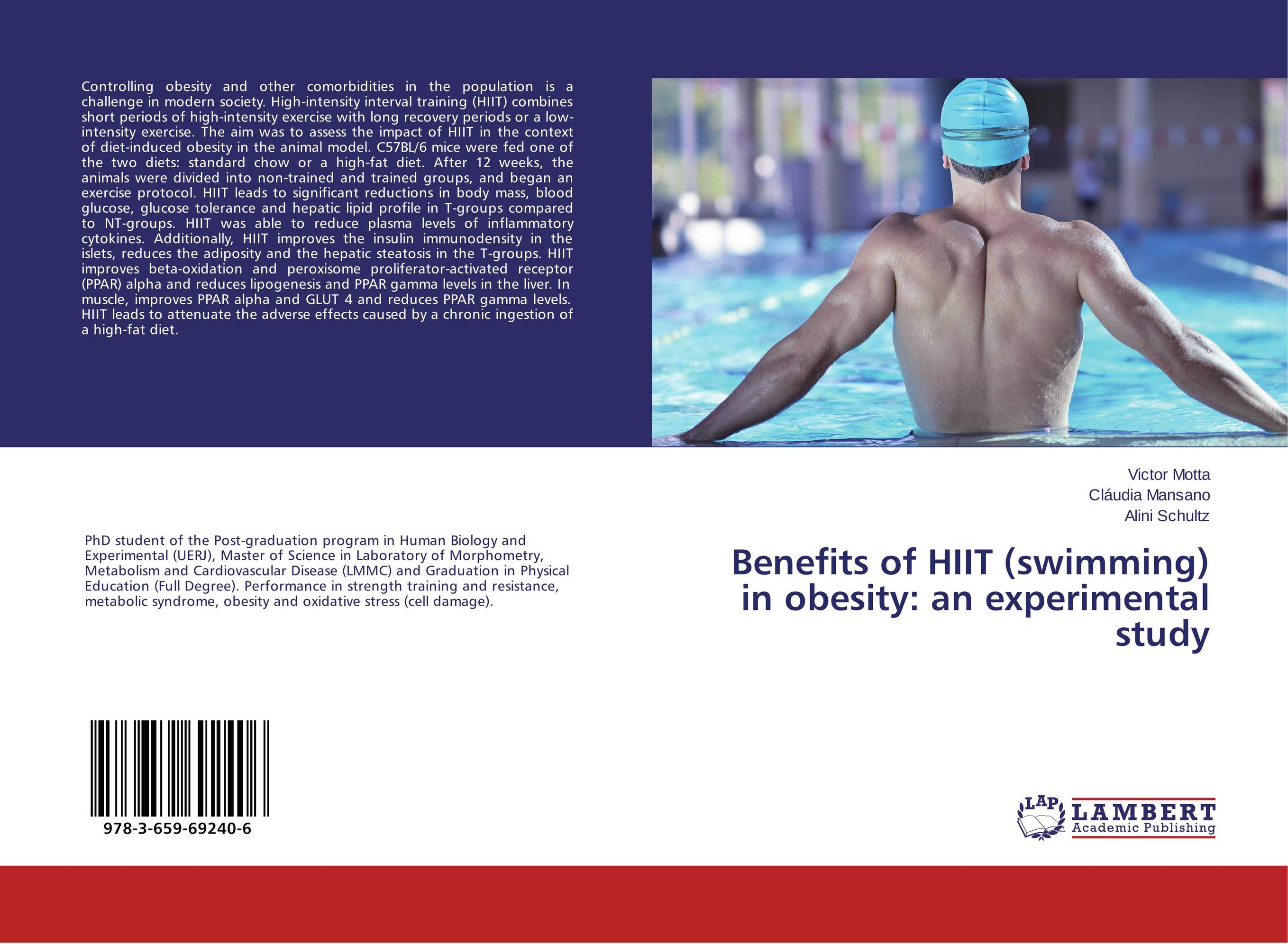 Benefits of HIIT (swimming) in obesity: an experimental study effects of moderate intensity exercise on lipoprotein lipid profile