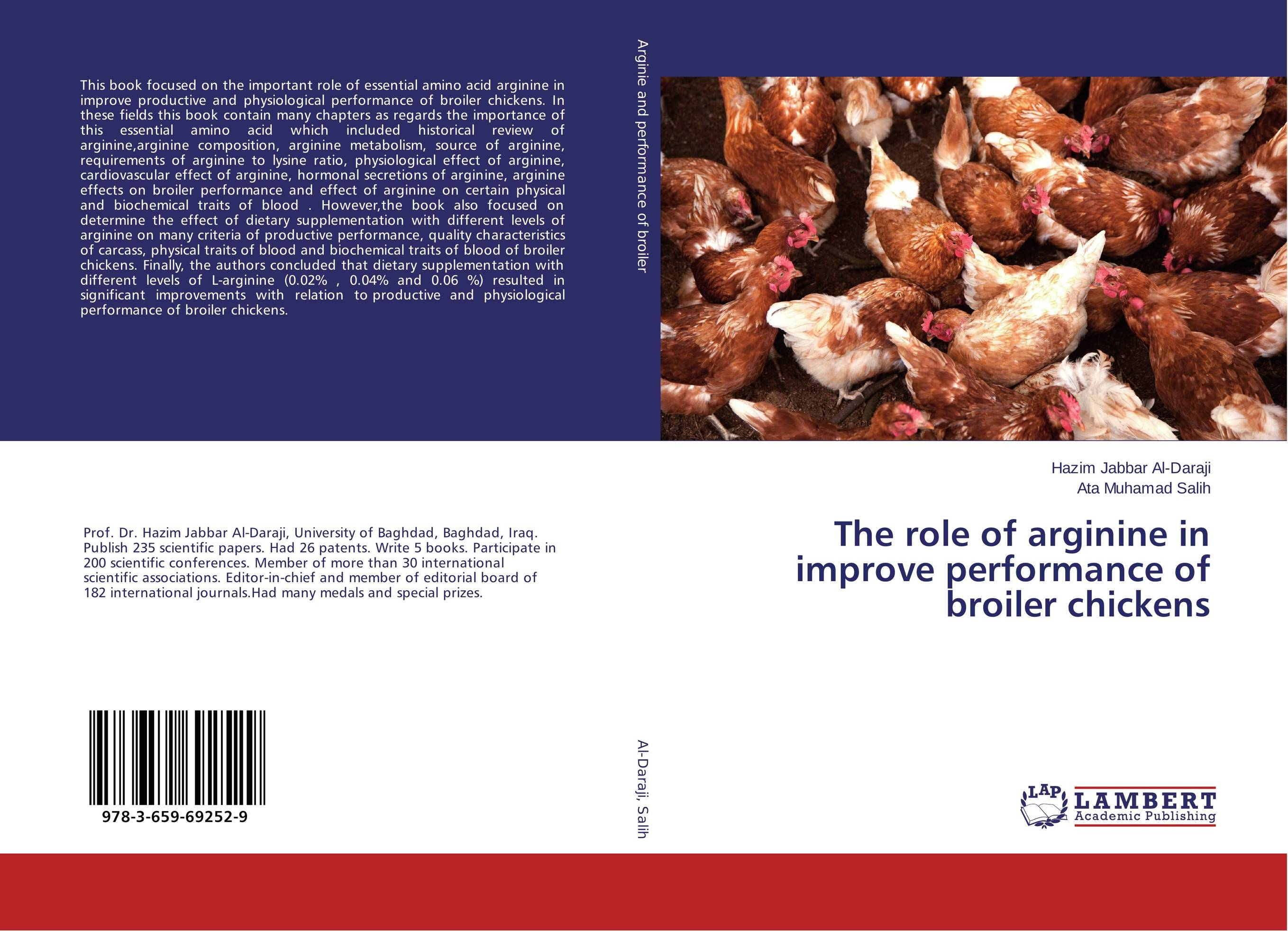 купить The role of arginine in improve performance of broiler chickens недорого