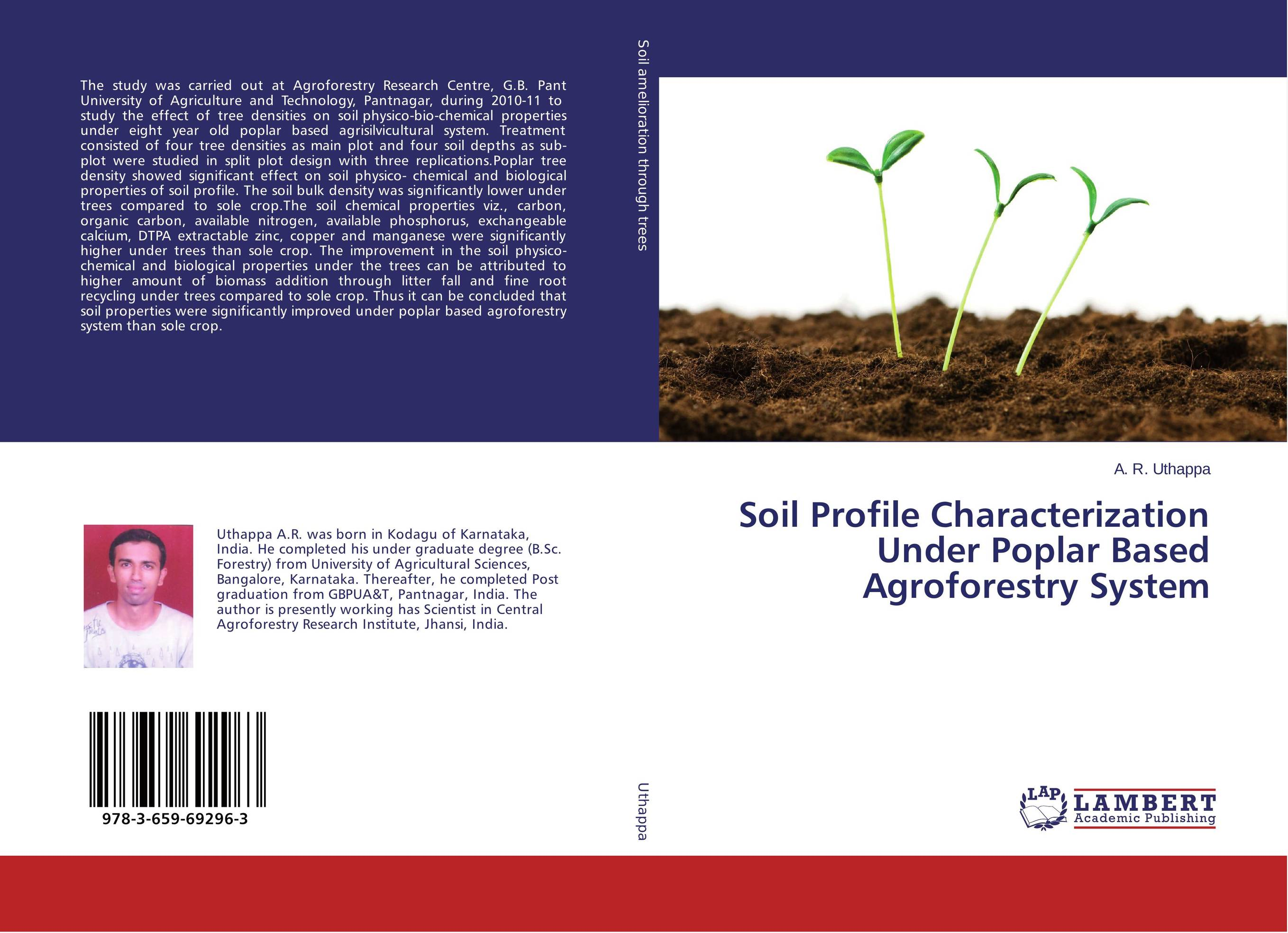 Soil Profile Characterization Under Poplar Based Agroforestry System narinder kumar sharma h p singh and j s samra poplar and wheat agroforestry system