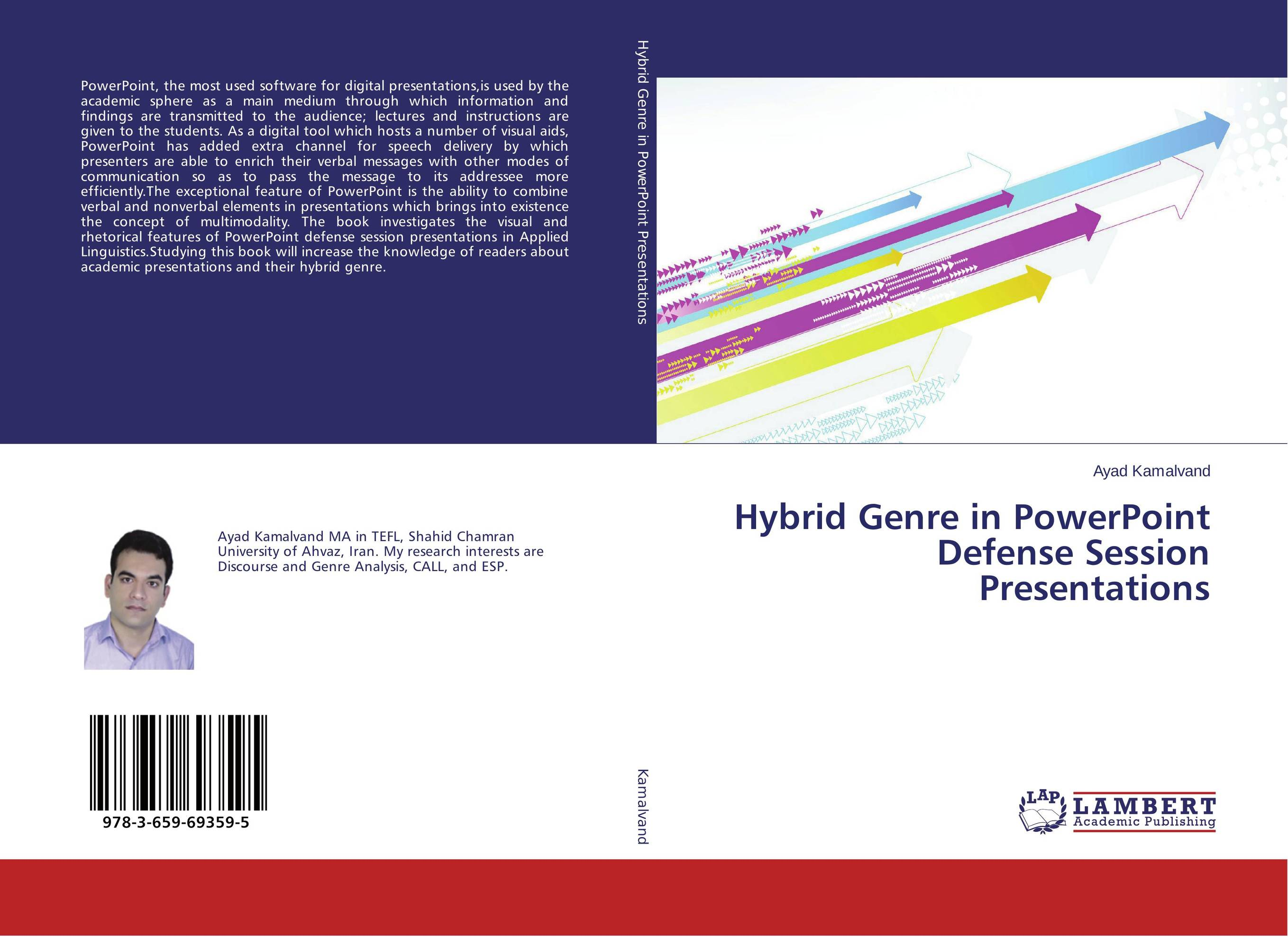 Hybrid Genre in PowerPoint Defense Session Presentations visual communication spotlights for exhibition and trade fairs 40cm long arm and 30cm extra height