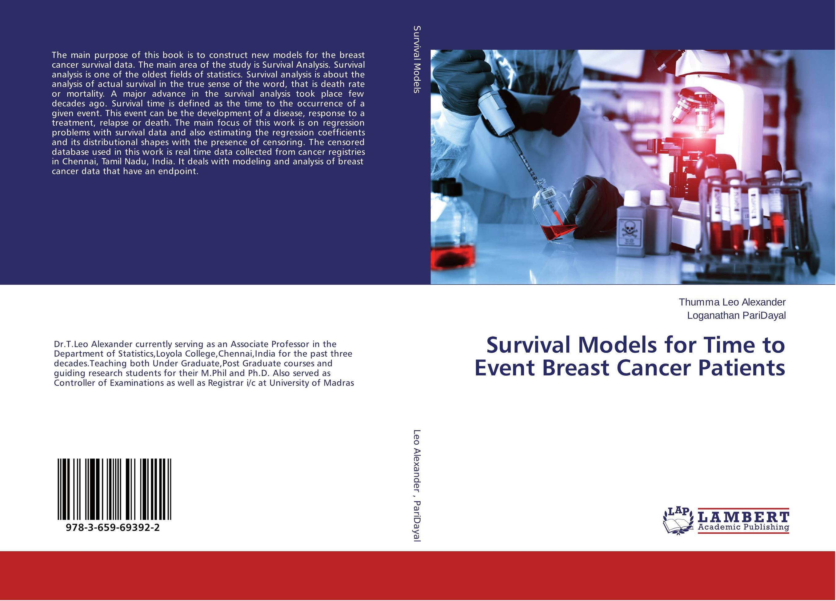 Survival Models for Time to Event Breast Cancer Patients breast cancer awareness device for the women home self examination