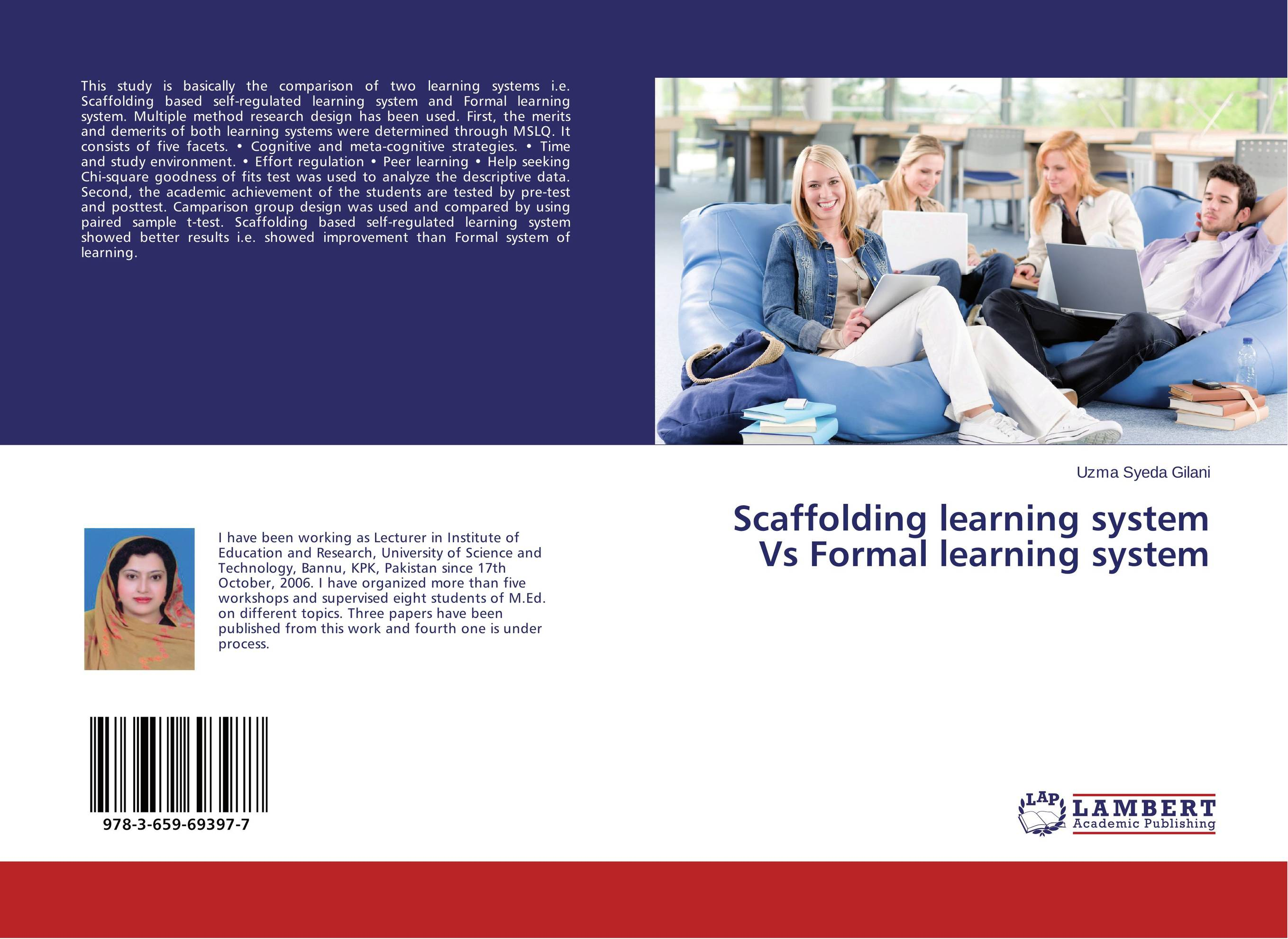 Scaffolding learning system Vs Formal learning system pso based evolutionary learning