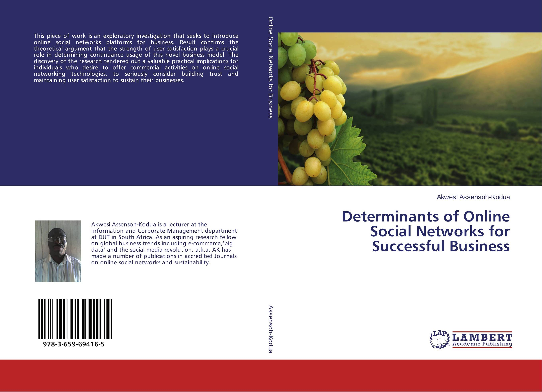 Determinants of Online Social Networks for Successful Business кальсоны user кальсоны